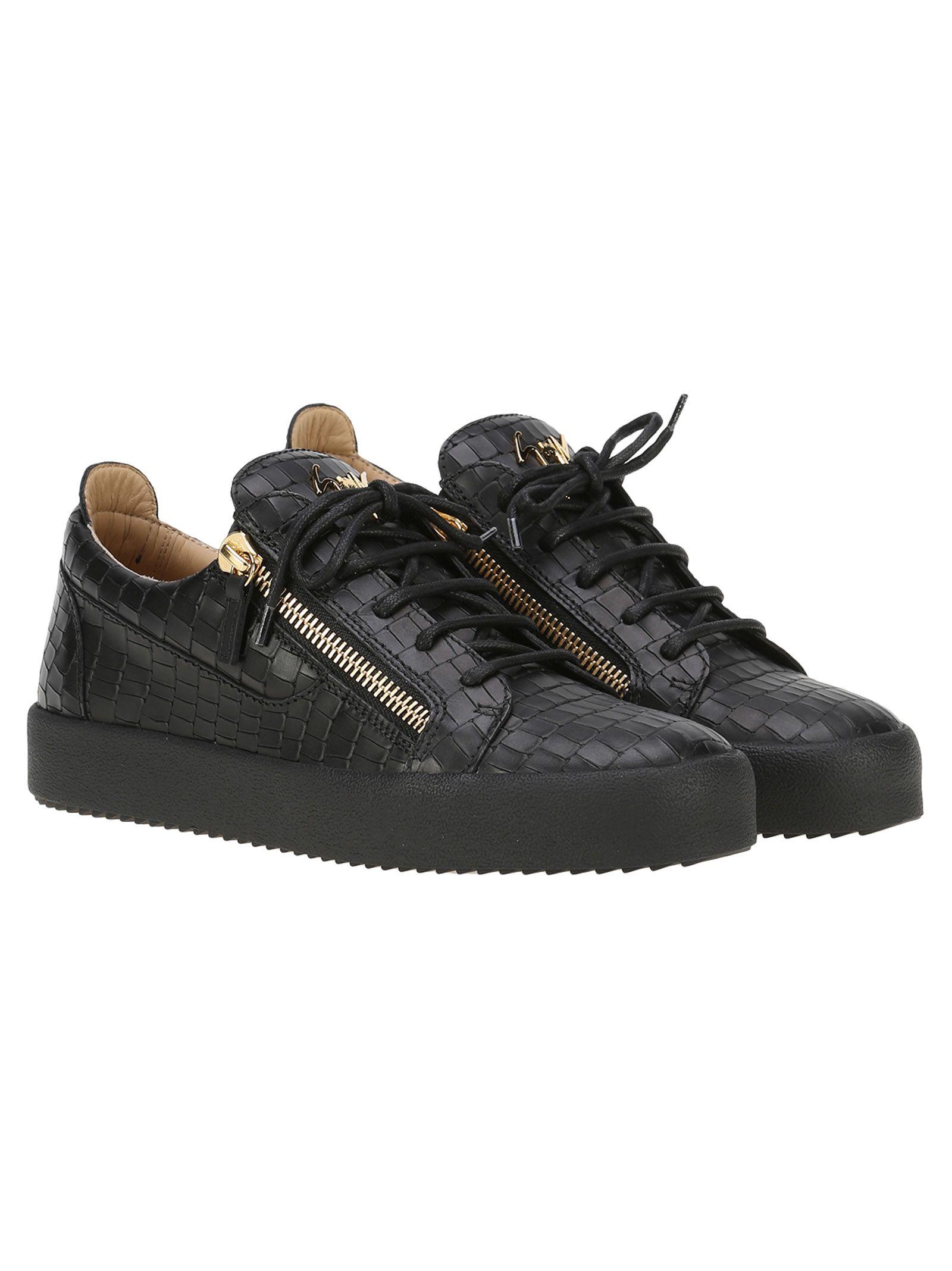 Giuseppe Zanotti Design Frankie Croc Sneakers