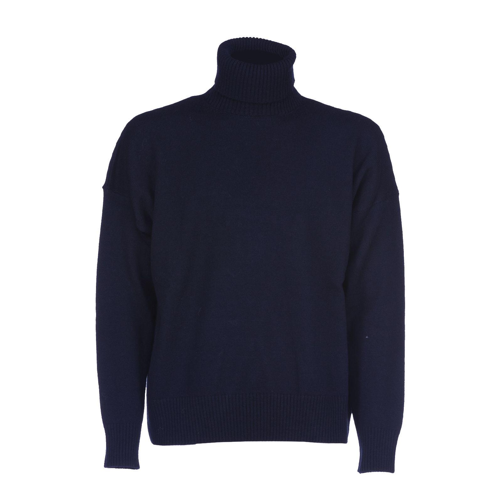 Ami Alexandre Mattiussi Oversized Turtle-neck Sweater
