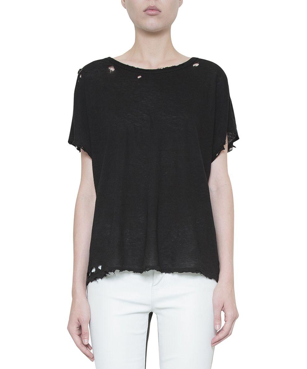 RTA Destroyed Cotton T-shirt