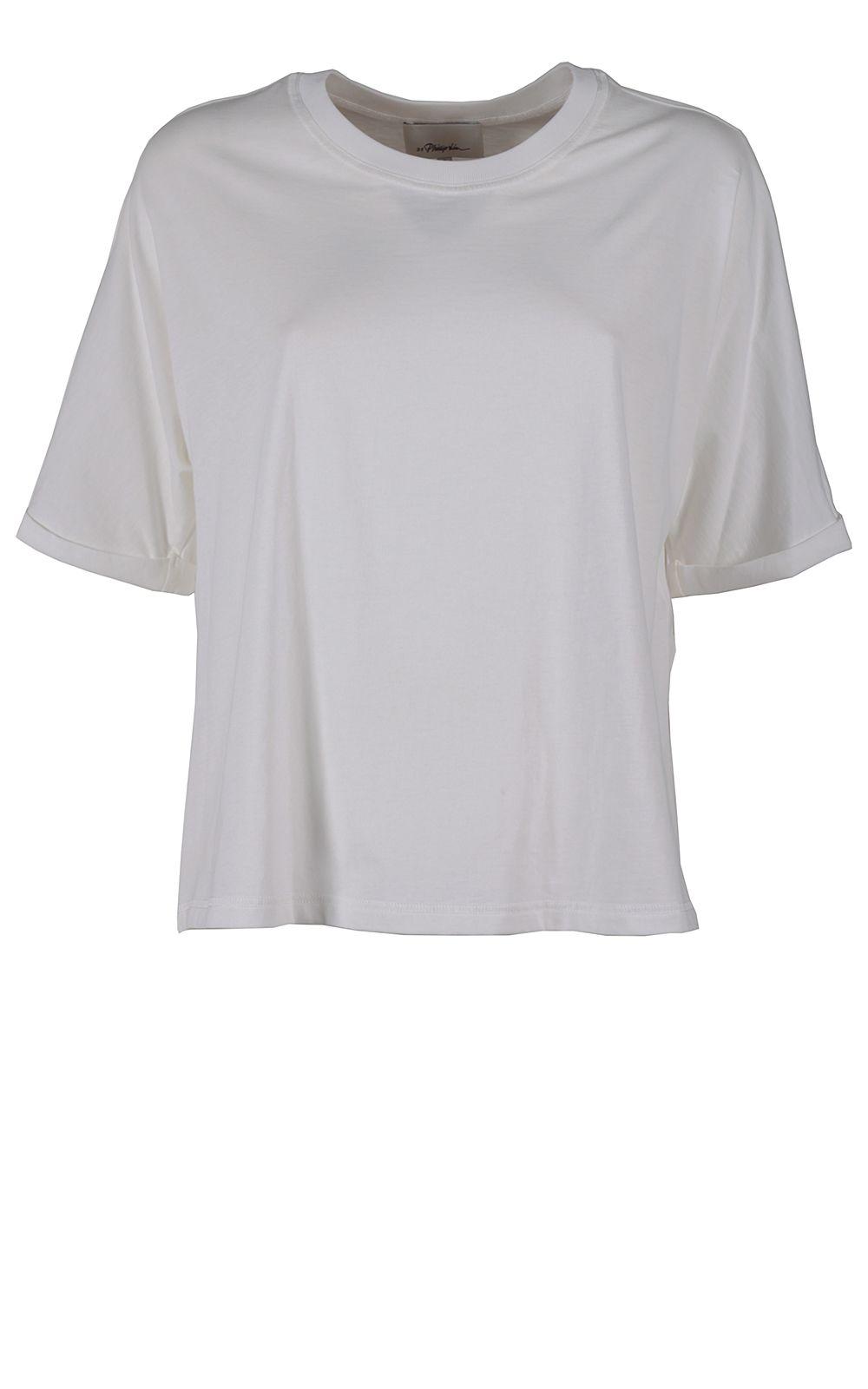 3.1 Phillip Lim Silk And Cotton T-shirt