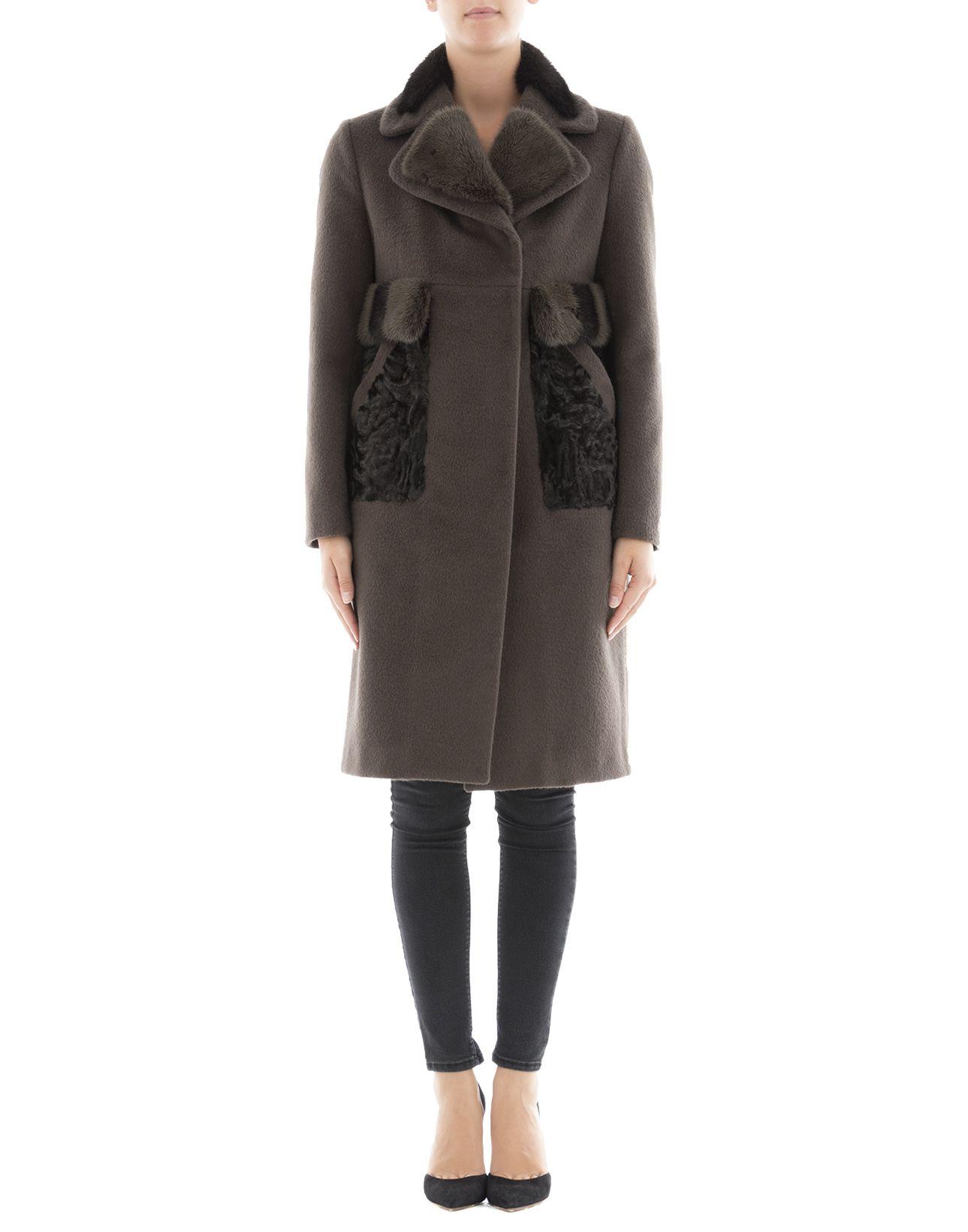 Brown Alpaca Coat