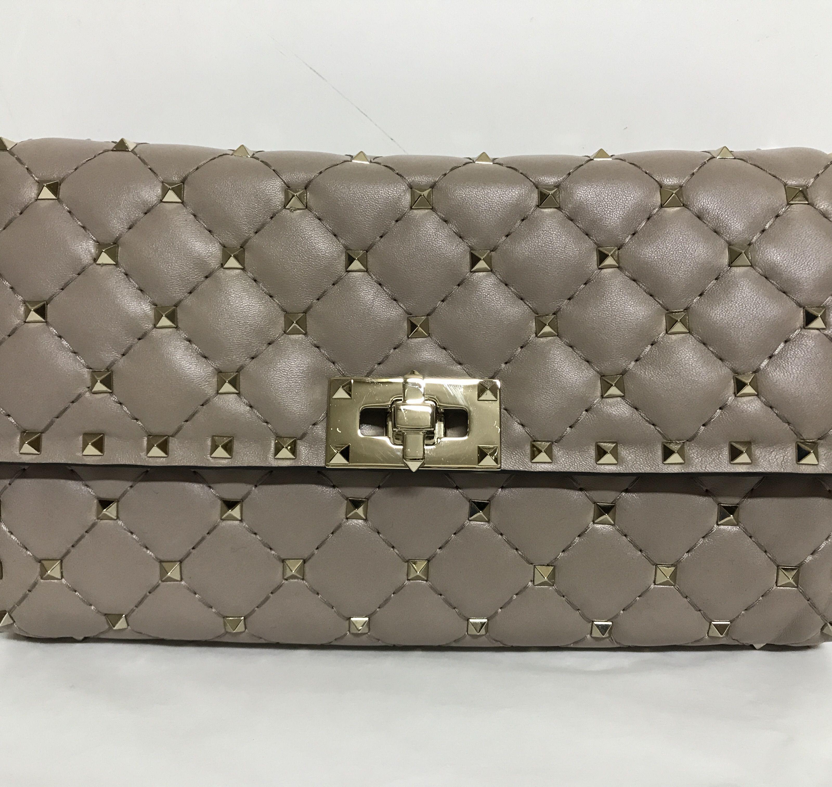 Valentino Garavani Rockstud Spike Chain Shoulder Bag