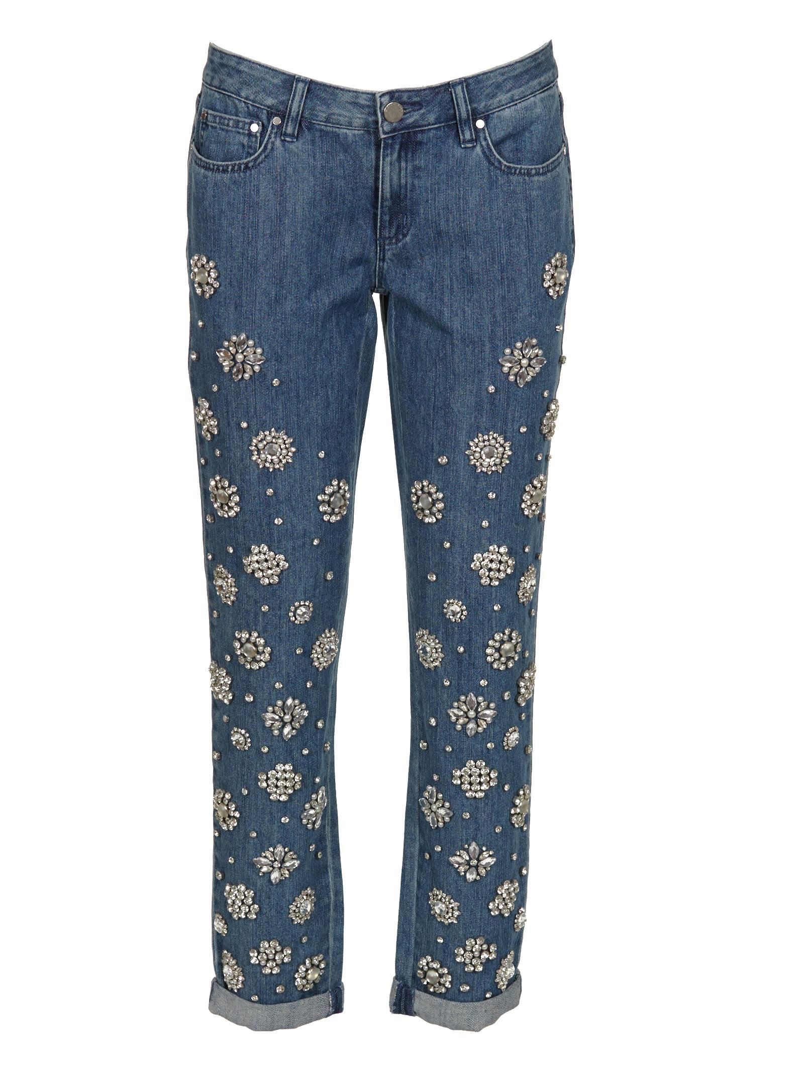Michael Kors Bejeweled Jeans