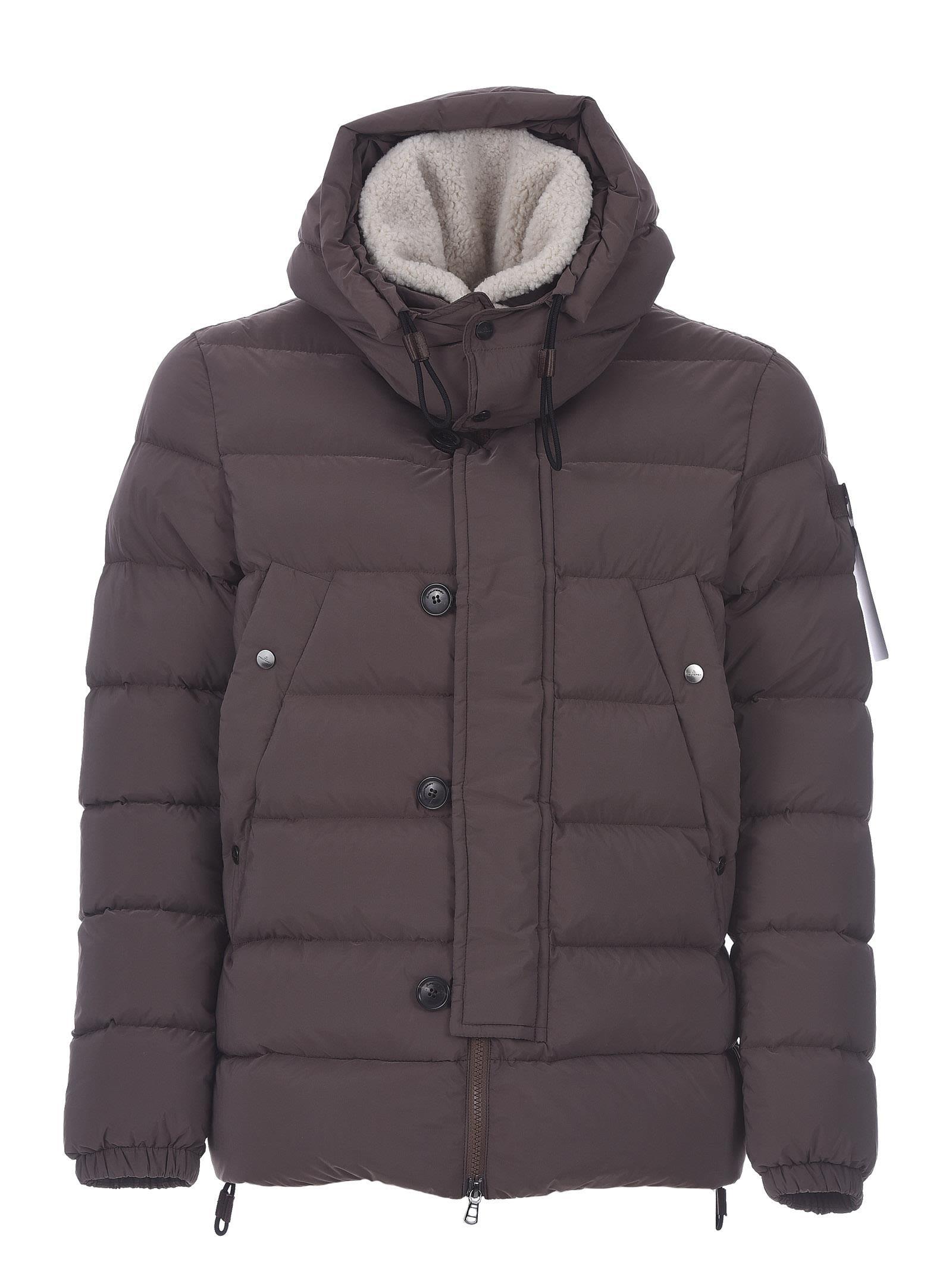 Peuterey Down Jacket Gripen Eco Fur