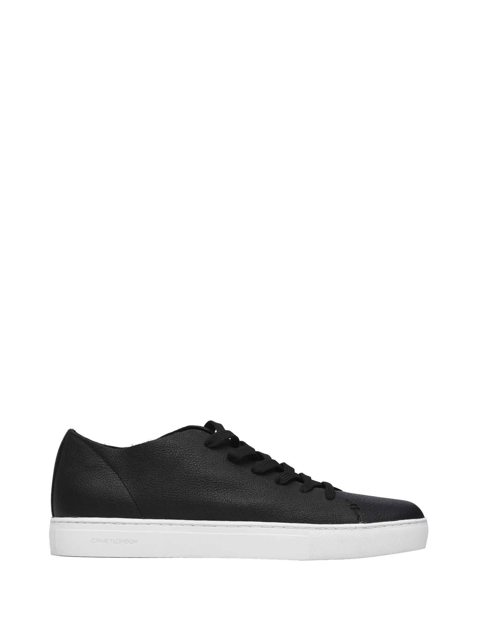 Crime London Black Sneakers