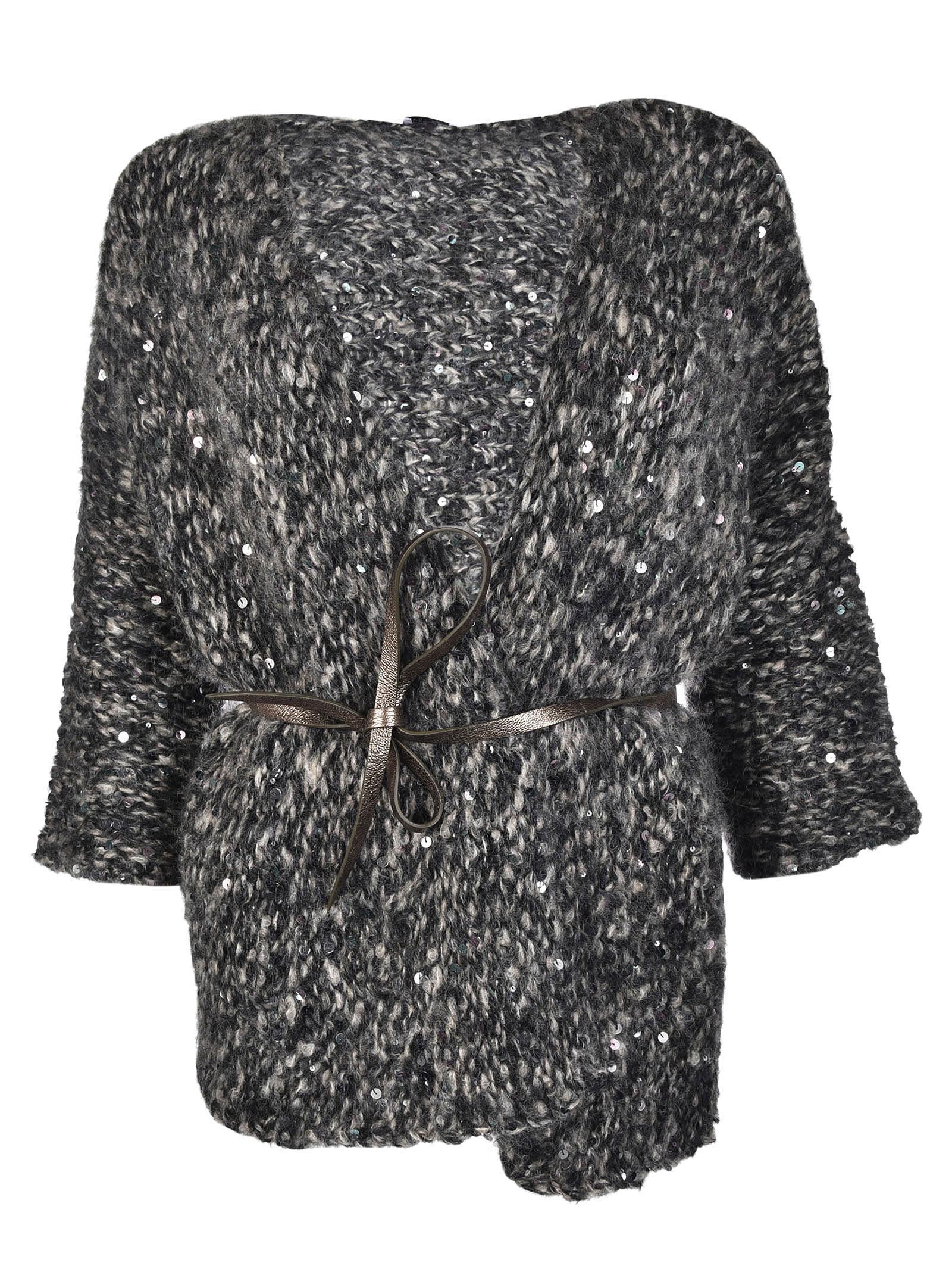 Brunello Cucinelli Sequined Cardi-coat