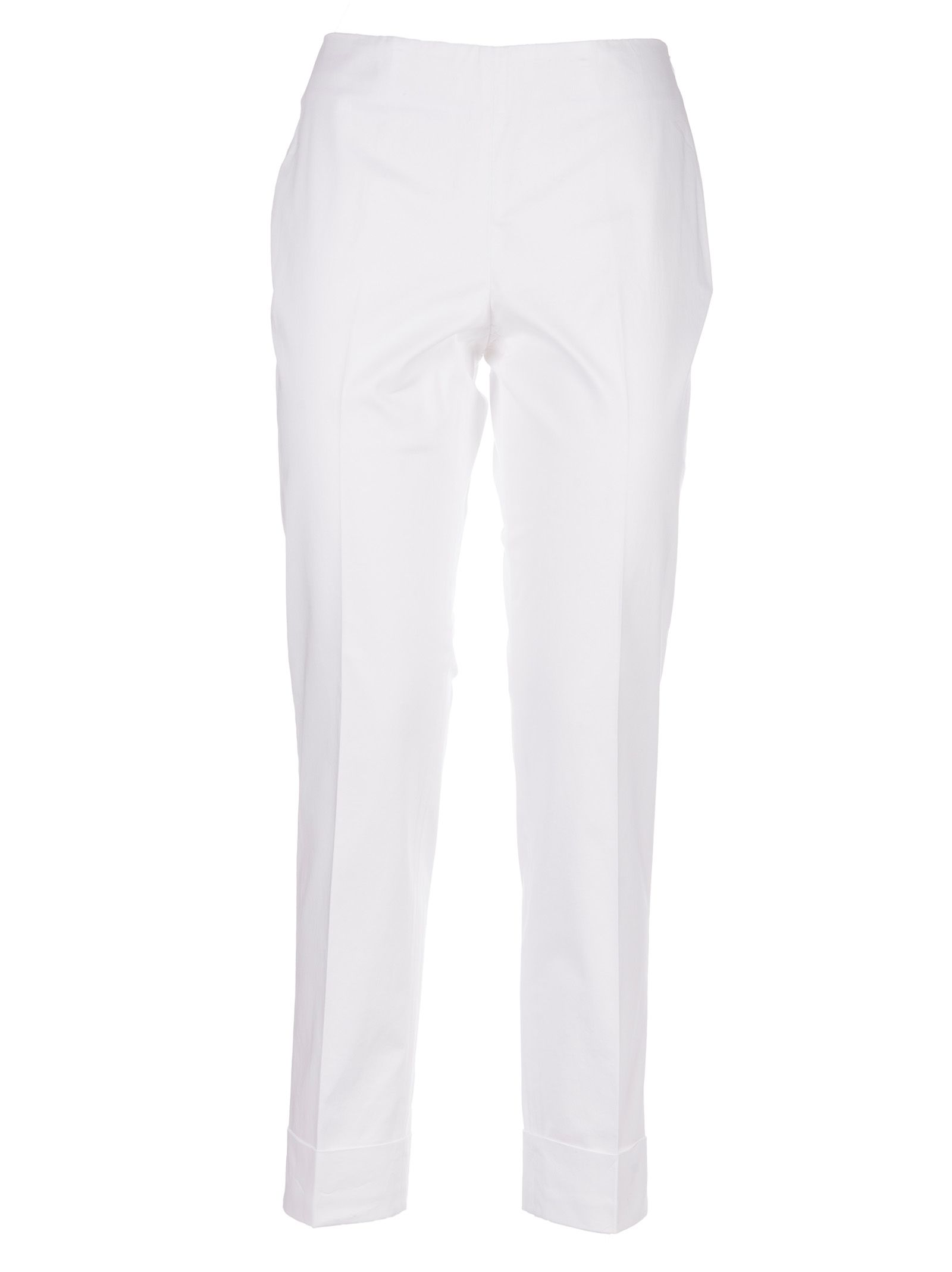 Peserico Turn-up Hem Trousers