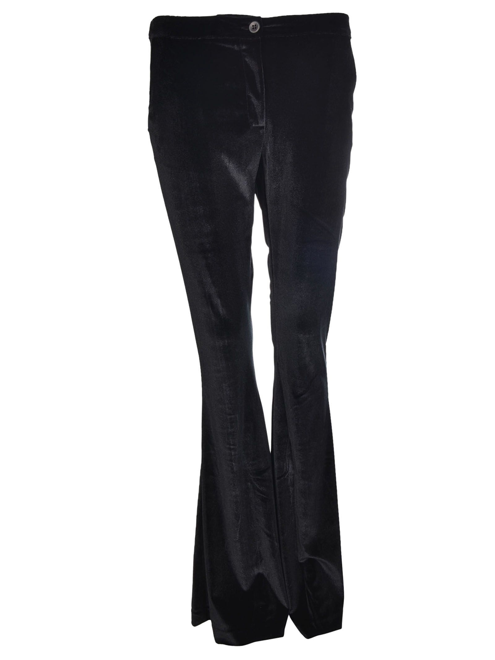 Black Coral Cloe Flare Leg Trousers