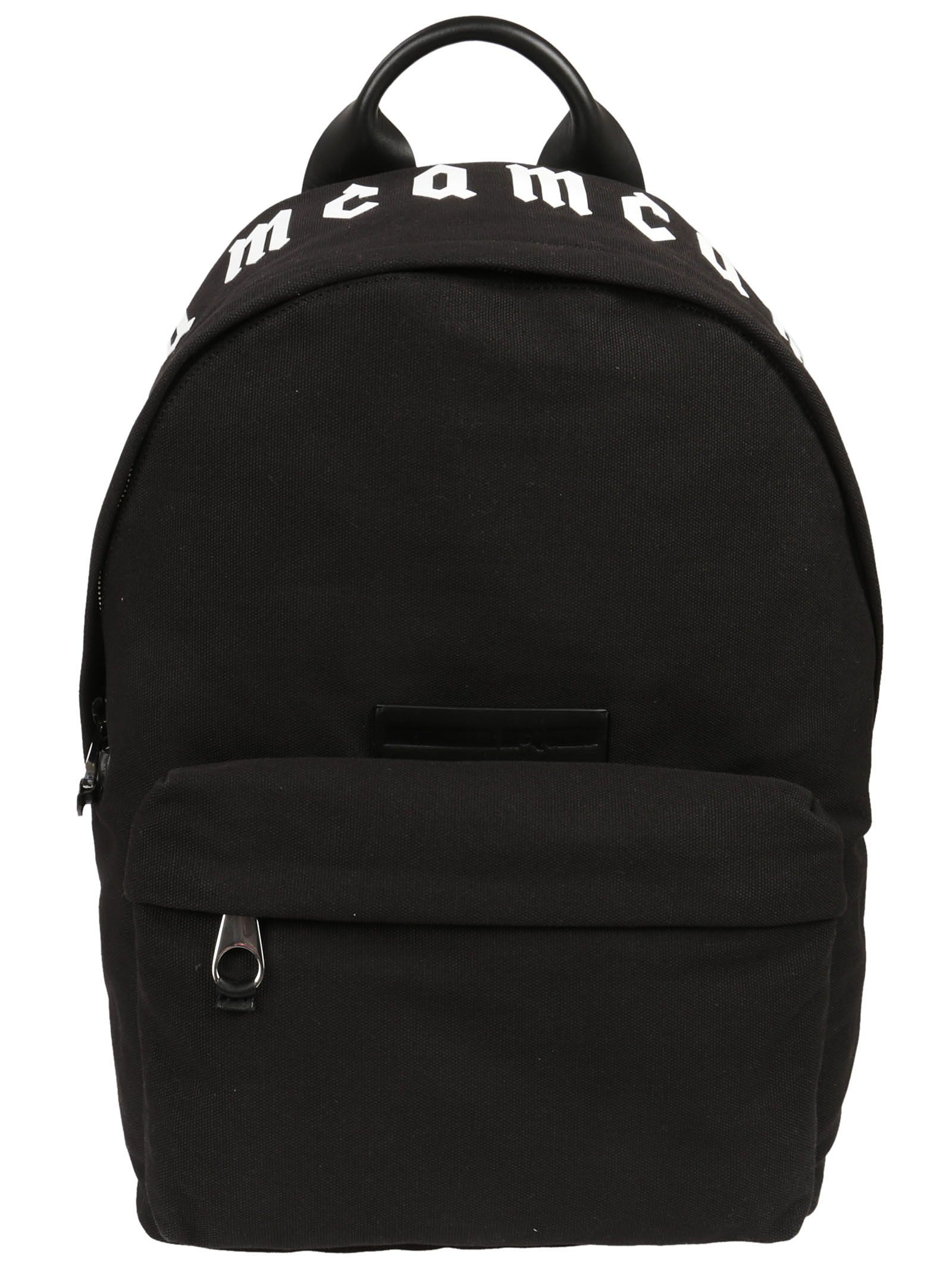 McQ Alexander McQueen Alexander Ueen Logo Backpack