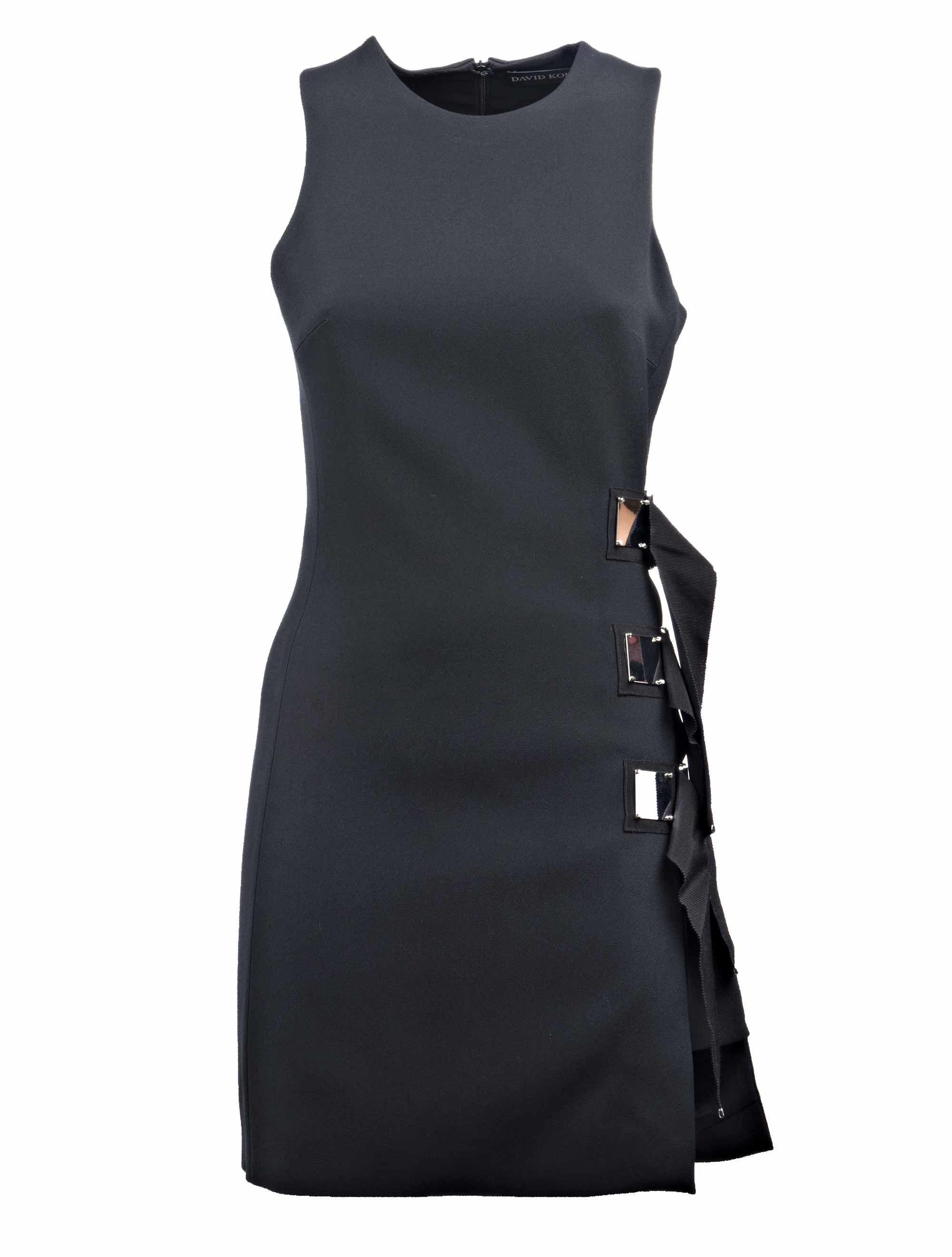 David Koma Square Mini Dress
