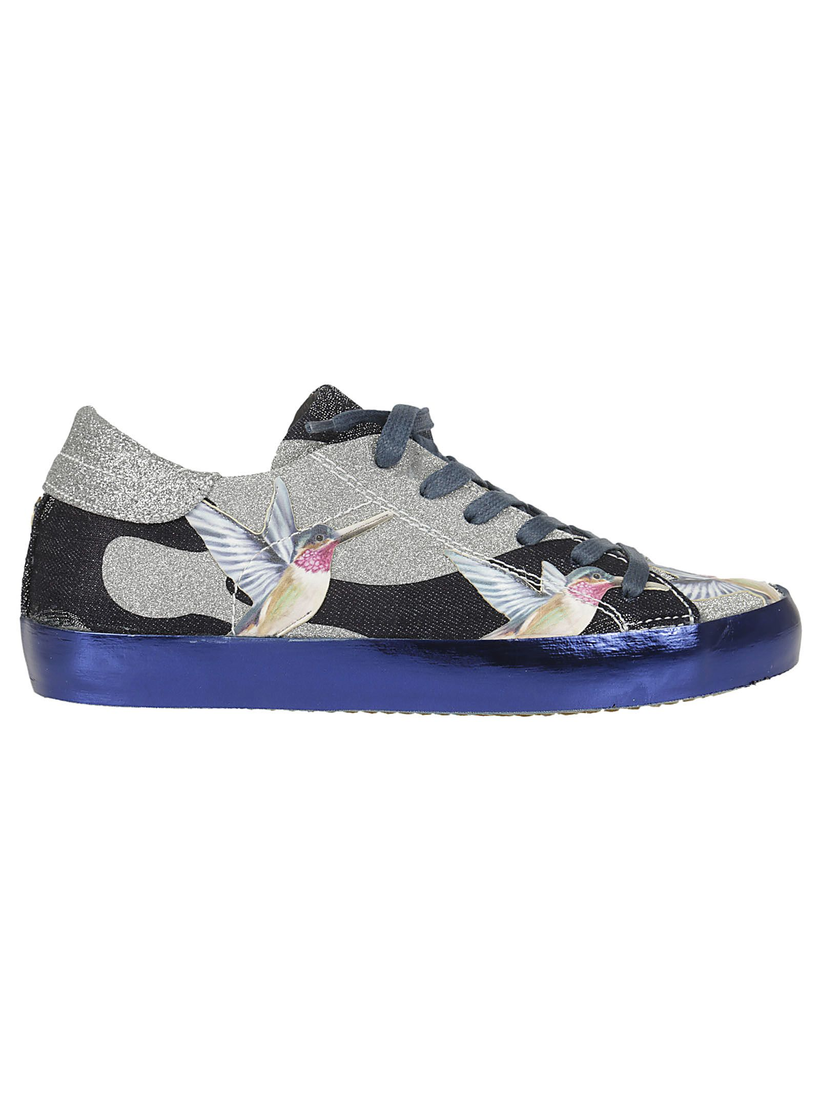 Philippe Model Hummingbird Print Sneakers
