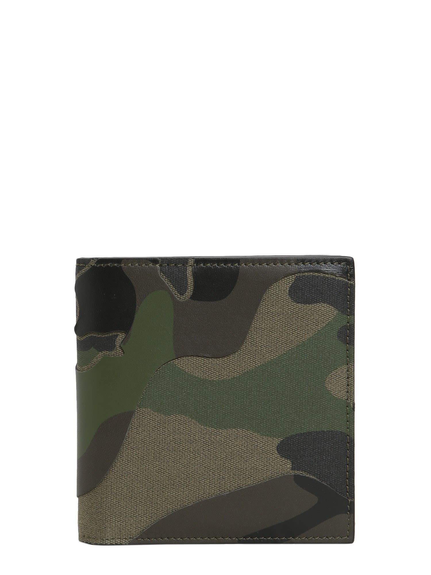 Camouflage Bifold Wallet