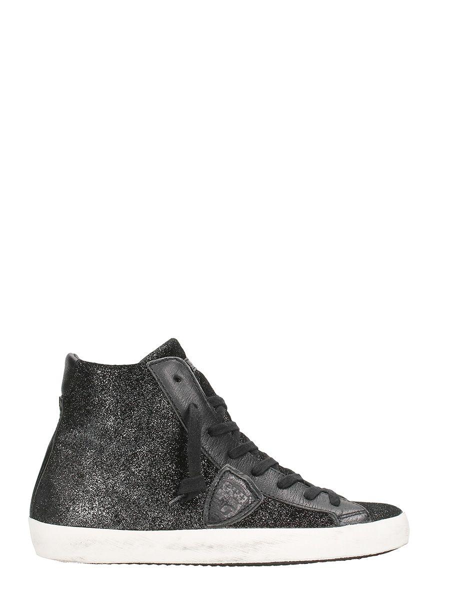 Philippe Model Paris Black Sneakers