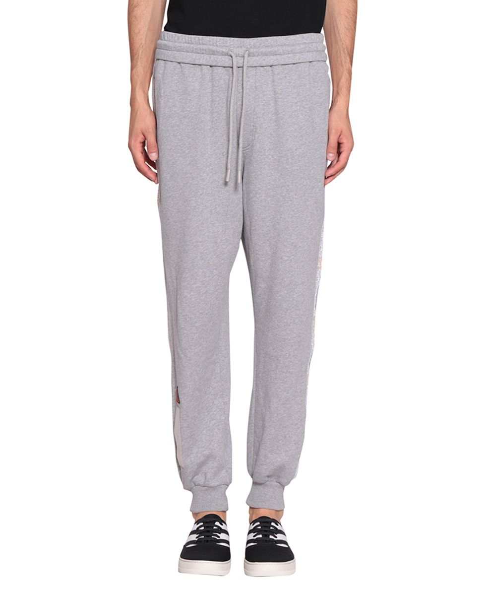 Off-White Tapered Cotton Sweatpants