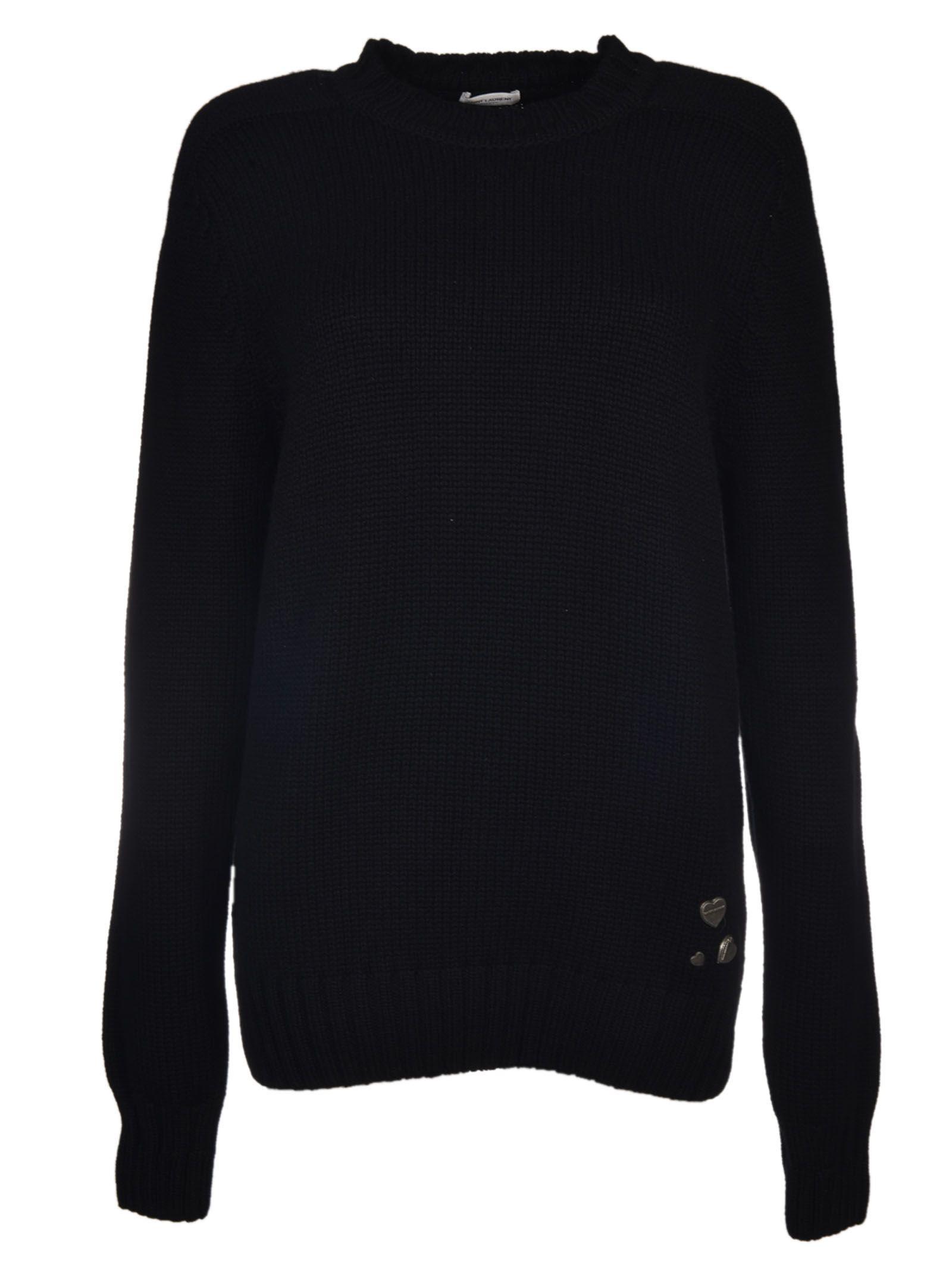 Saint Laurent Heart Sweater