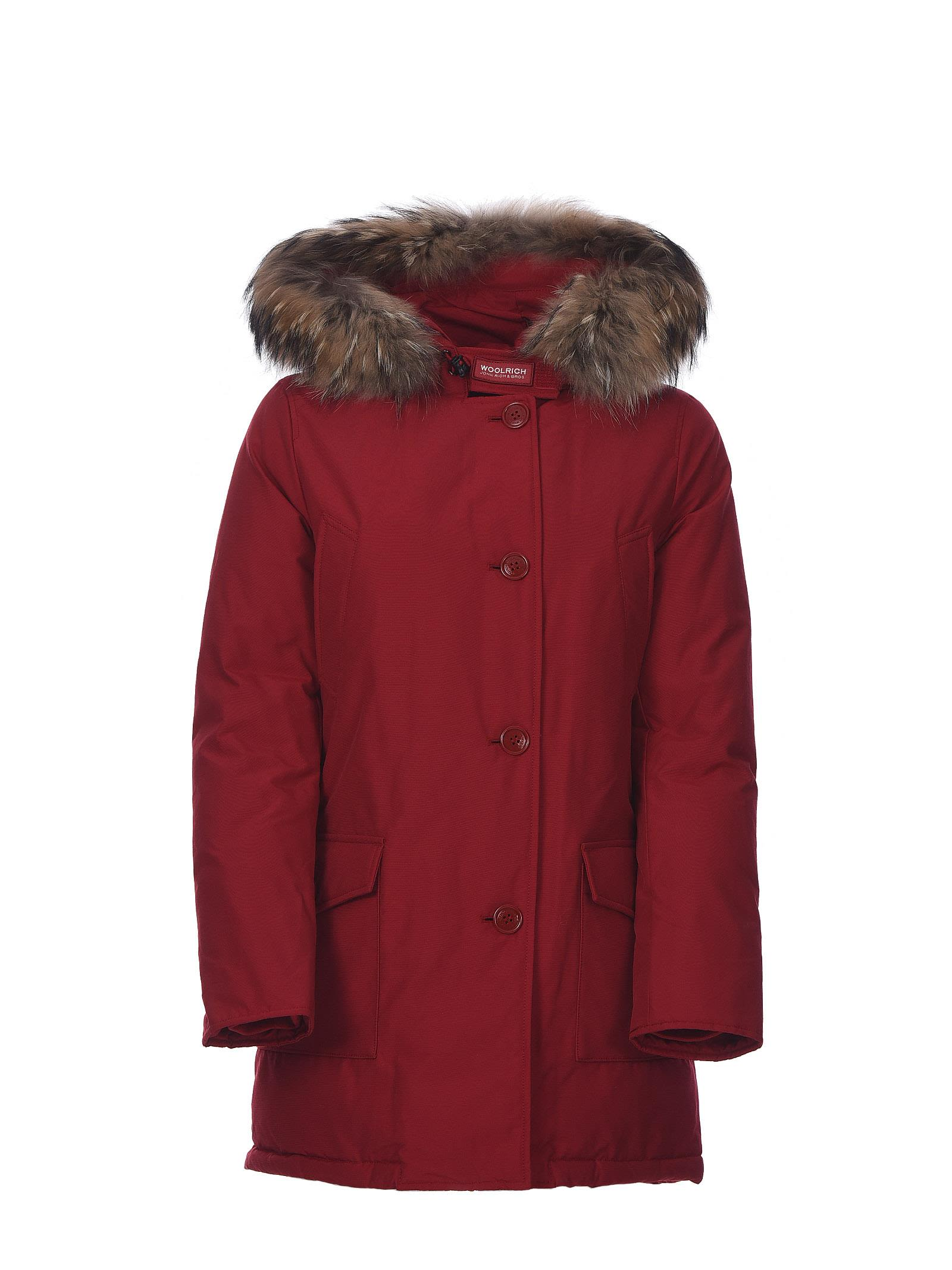 Woolrich Ws Arctic Df Parka Red