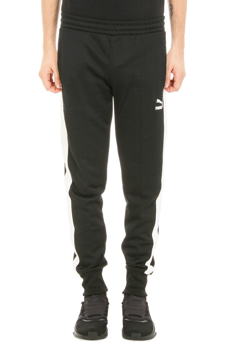 Puma Archive T7 Track Black Cotton Pants
