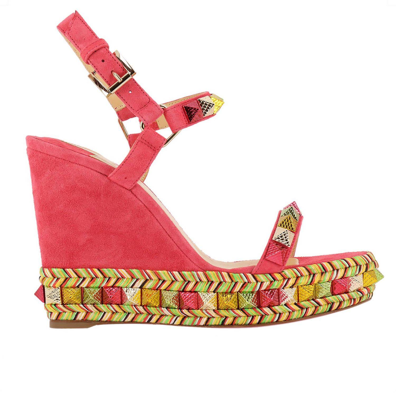 Wedge Shoes Shoes Women Christian Louboutin