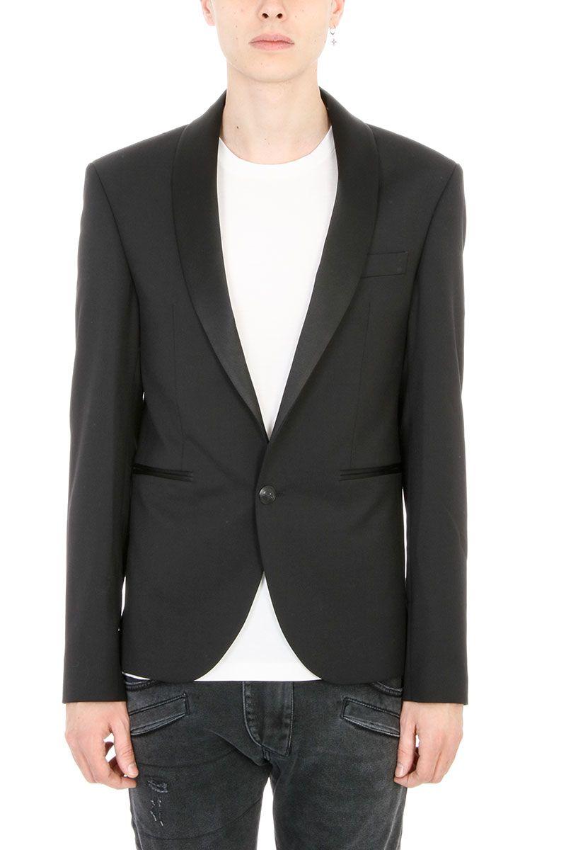 Pierre Balmain Black Wool Blazer