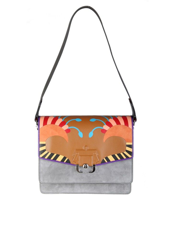 Paula Cademartori Bag twiggy In Leather Multicolor