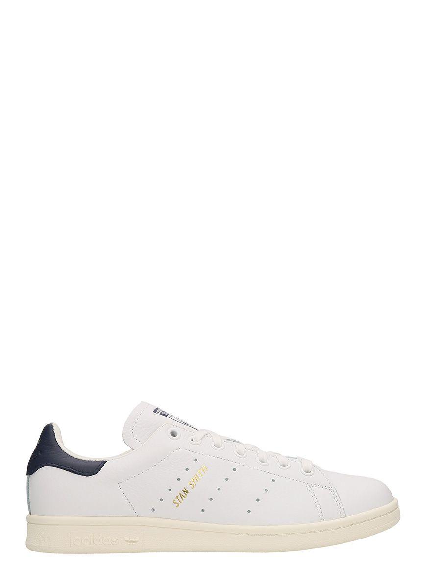 Adidas Stan Smith White Leather Sneakers