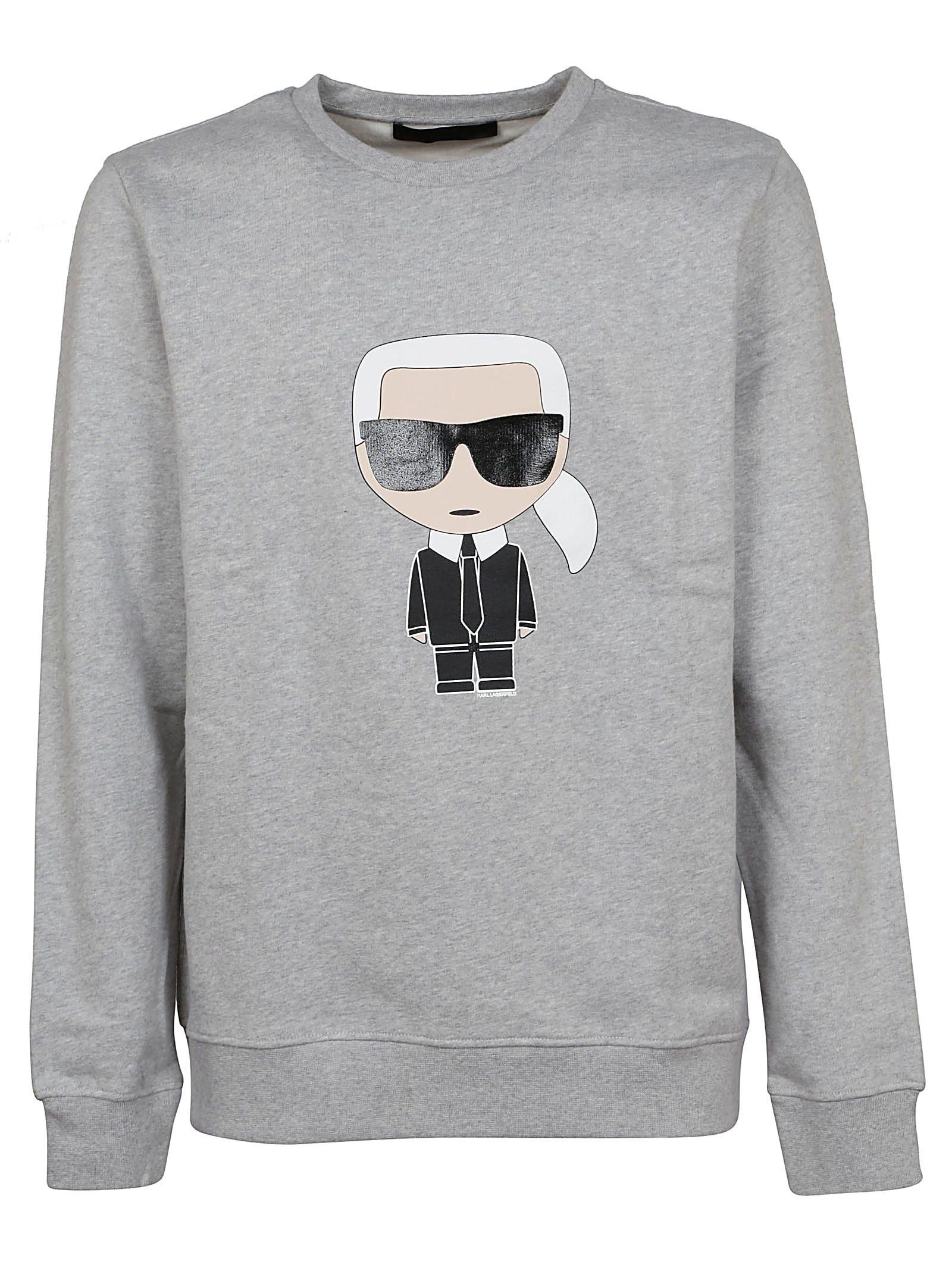 Karl Lagerfeld Printed Sweatshirt