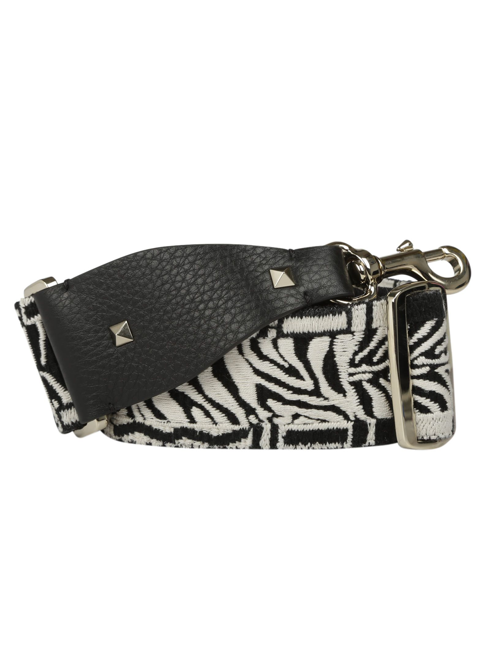 Valentino Garavani Zebra Embroidered Bag Strap