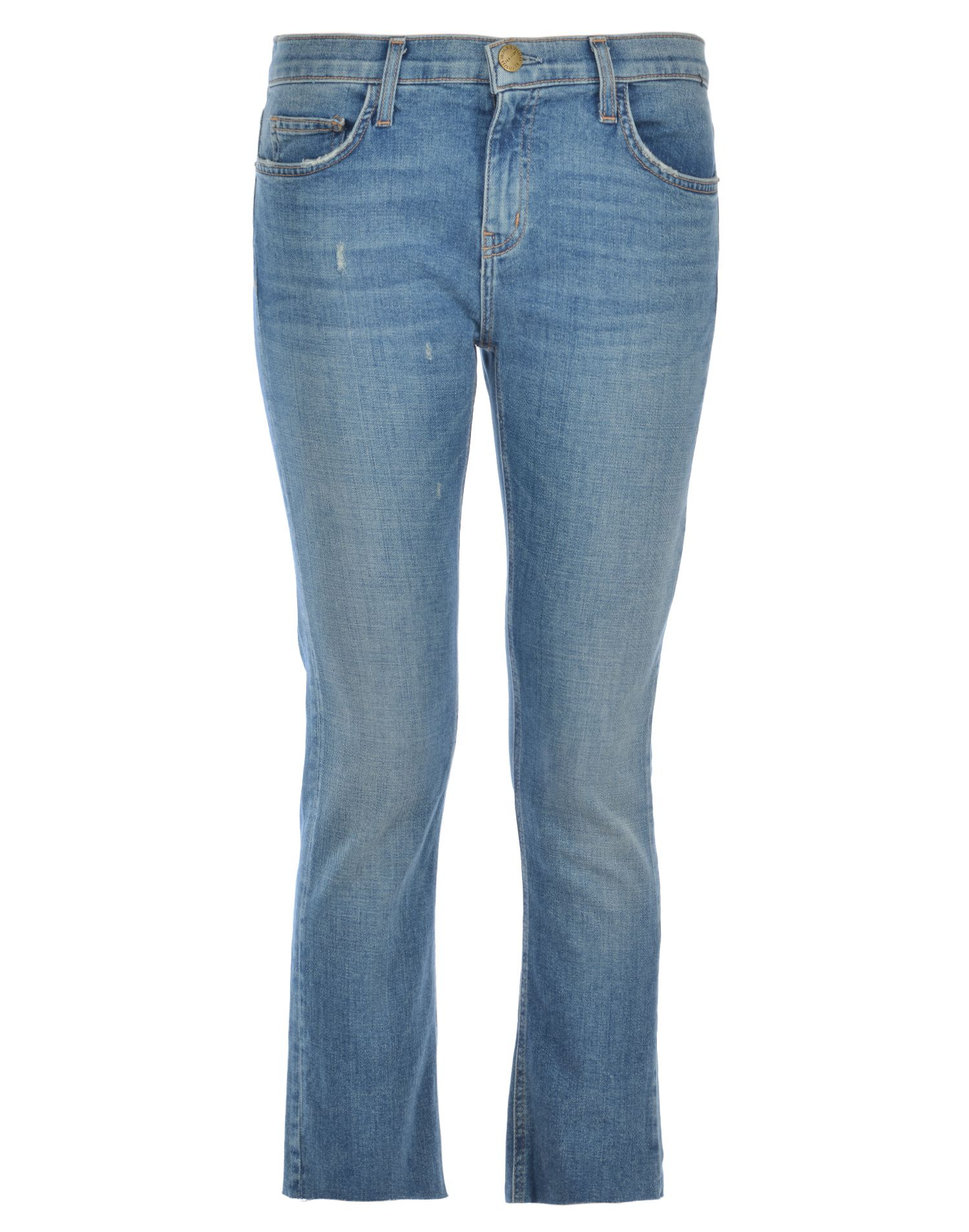 Current-Elliott The Cropped Straight Jeans