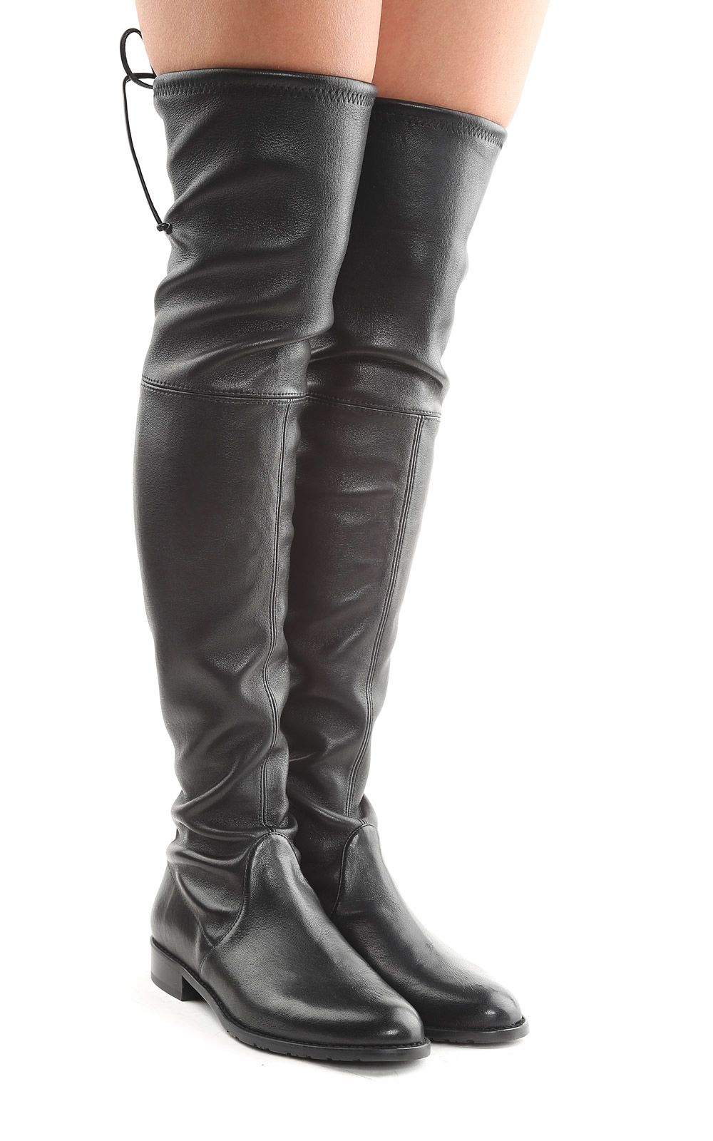 Shop for leather over the knee boots at arifvisitor.ga Free Shipping. Free Returns. All the time.
