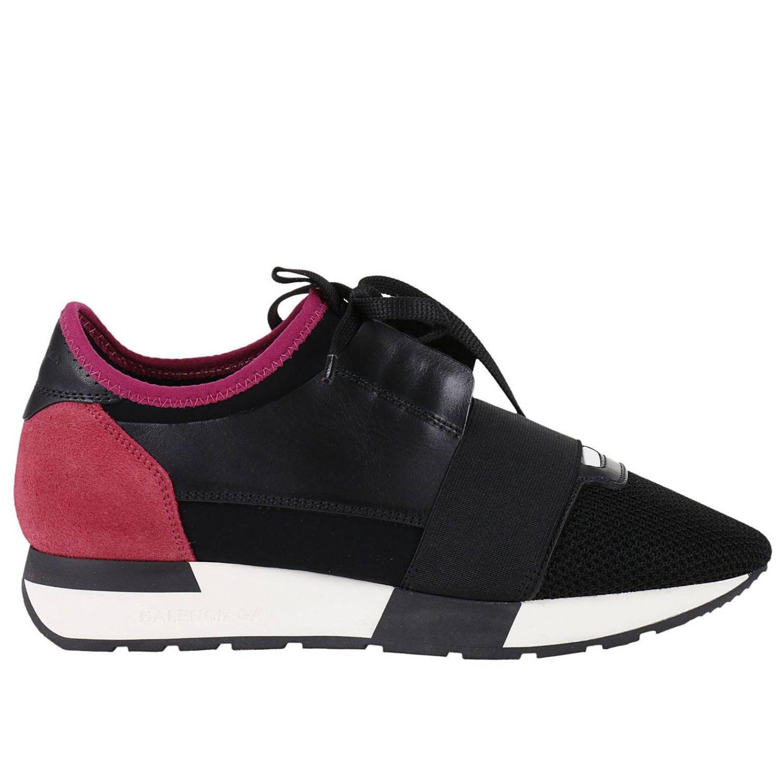 balenciaga sneakers shoes women balenciaga fuchsia women 39 s sneakers italist. Black Bedroom Furniture Sets. Home Design Ideas