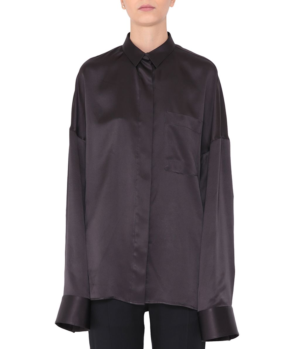 Haider Ackermann Oversized Silk Shirt