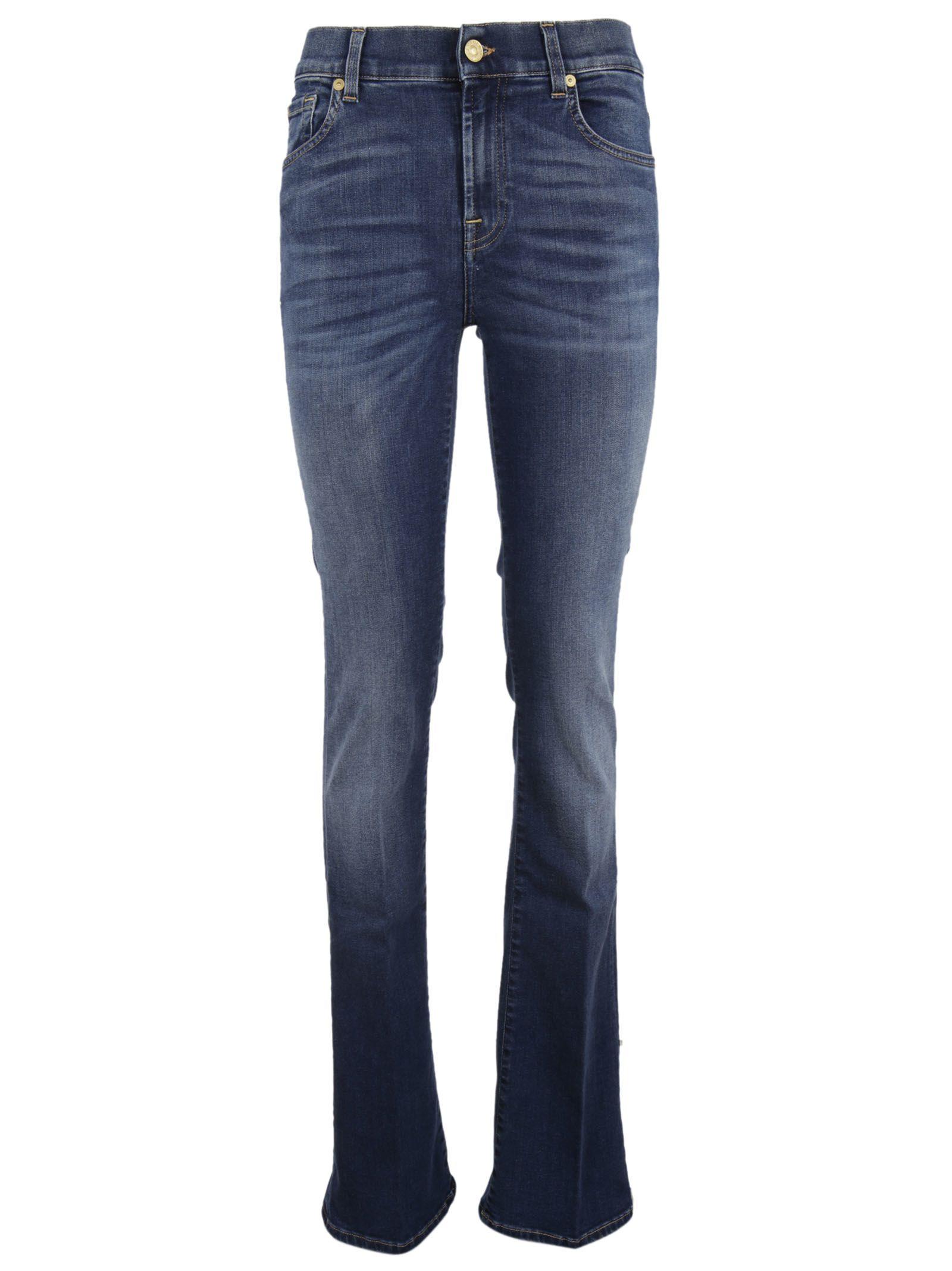 7 for all mankind 7 for all mankind 7 for all mankind bootcut jeans blue women 39 s jeans. Black Bedroom Furniture Sets. Home Design Ideas