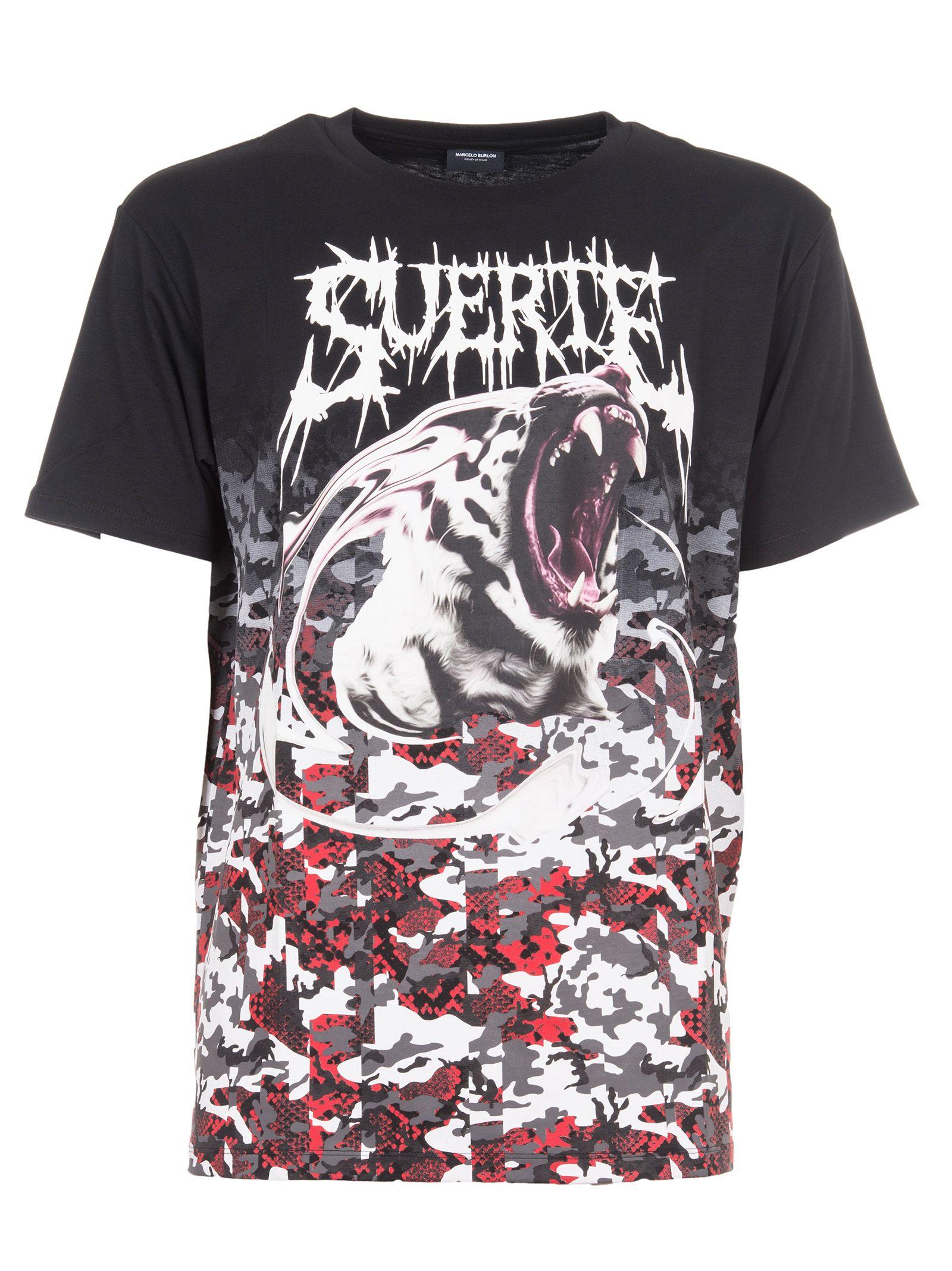 Marcelo Burlon Printed T-shirt