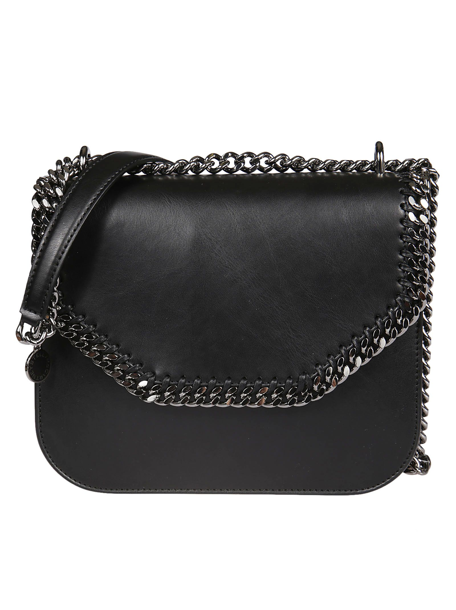 FALABELLA BOX MEDIUM FAUX LEATHER SHOULDER BAG