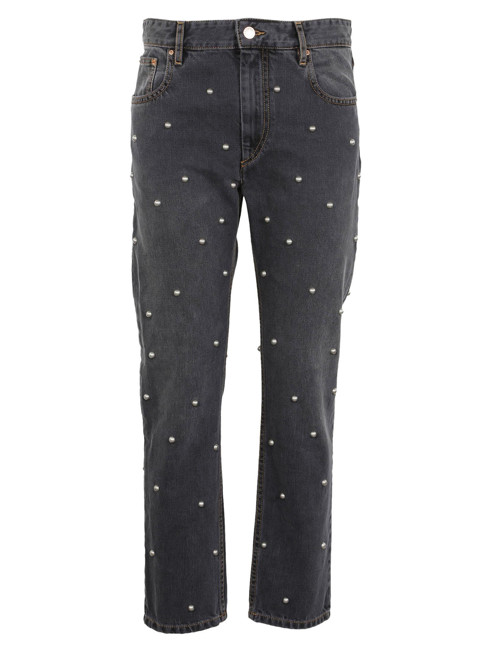 Isabel Marant Pearl Detailed Jeans