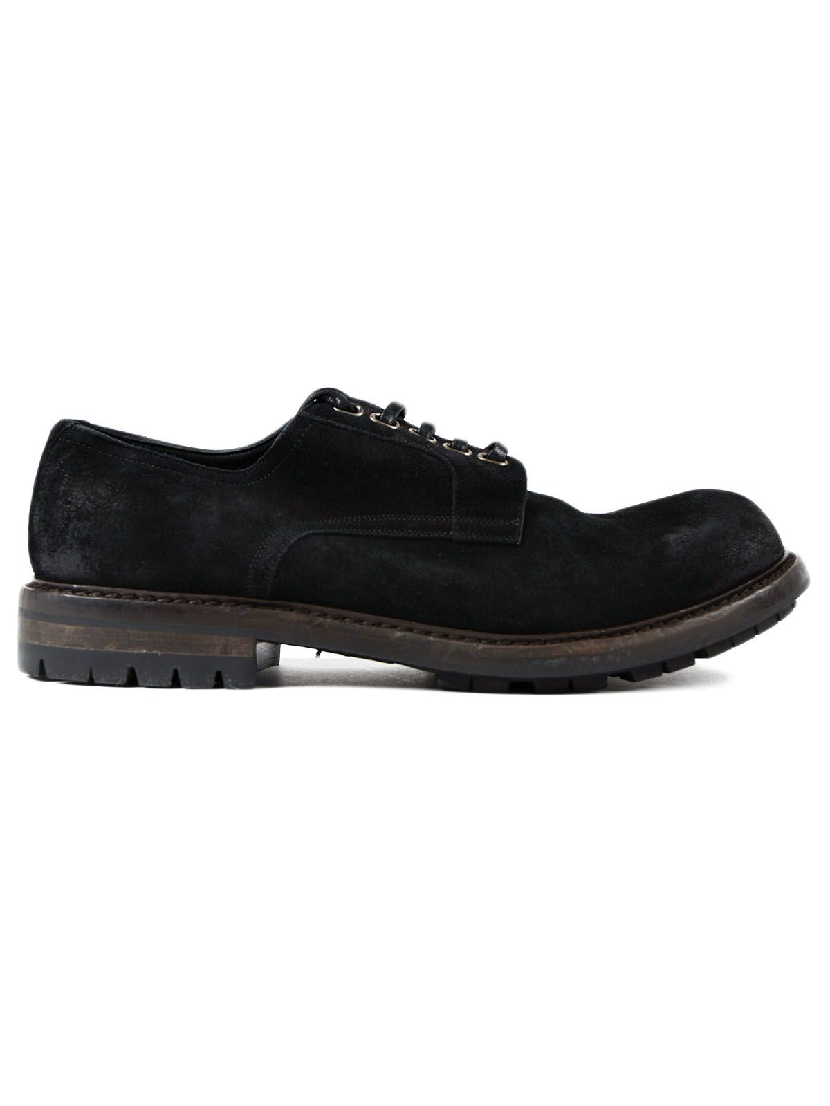 Dolce & Gabbana Dolce & Gabbana Crosta Stone Wash Derby Shoes