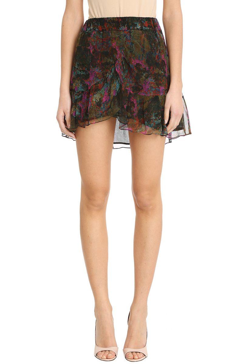 IRO Jepy Flowy Chiffon Skirt