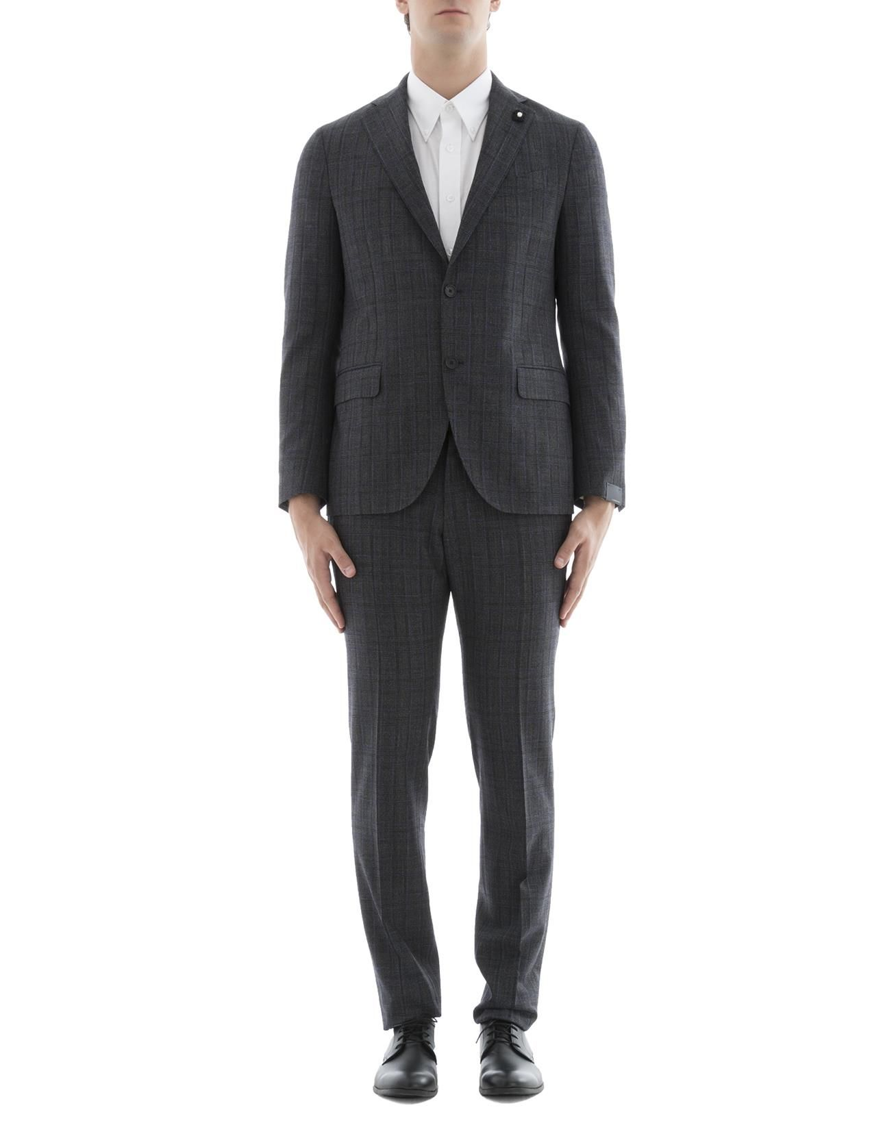 Grey Wool Suit