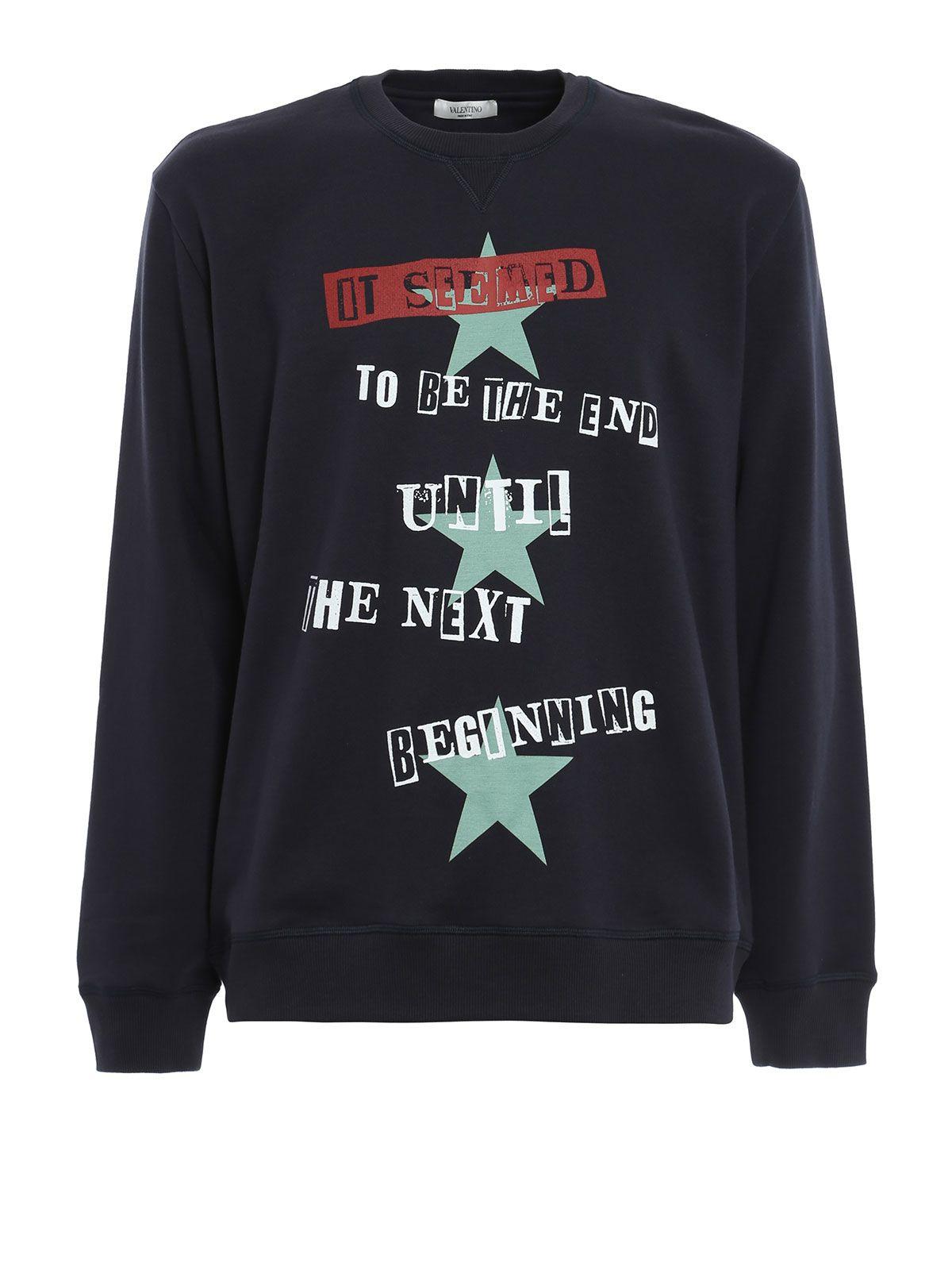 Valentino Jersey Sweatshirt Jamie Reid Prt.