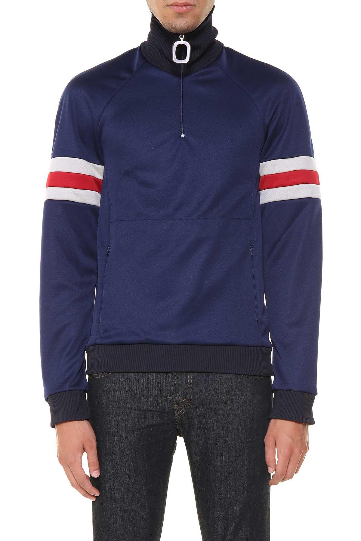 J.w. Anderson High Collar Sweatshirt