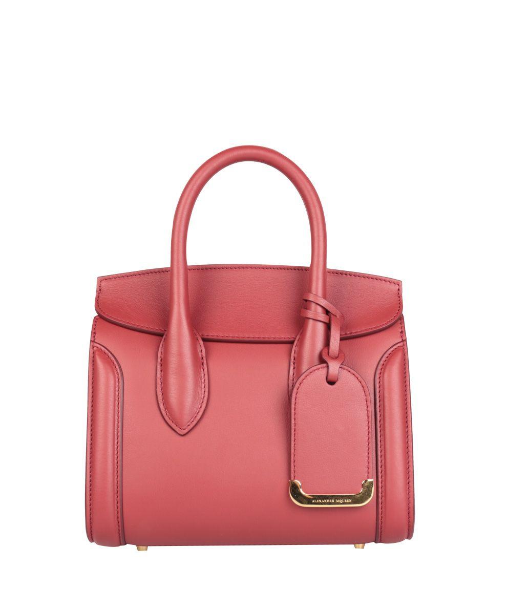 Alexander McQueen Heroine Small Leather Bag