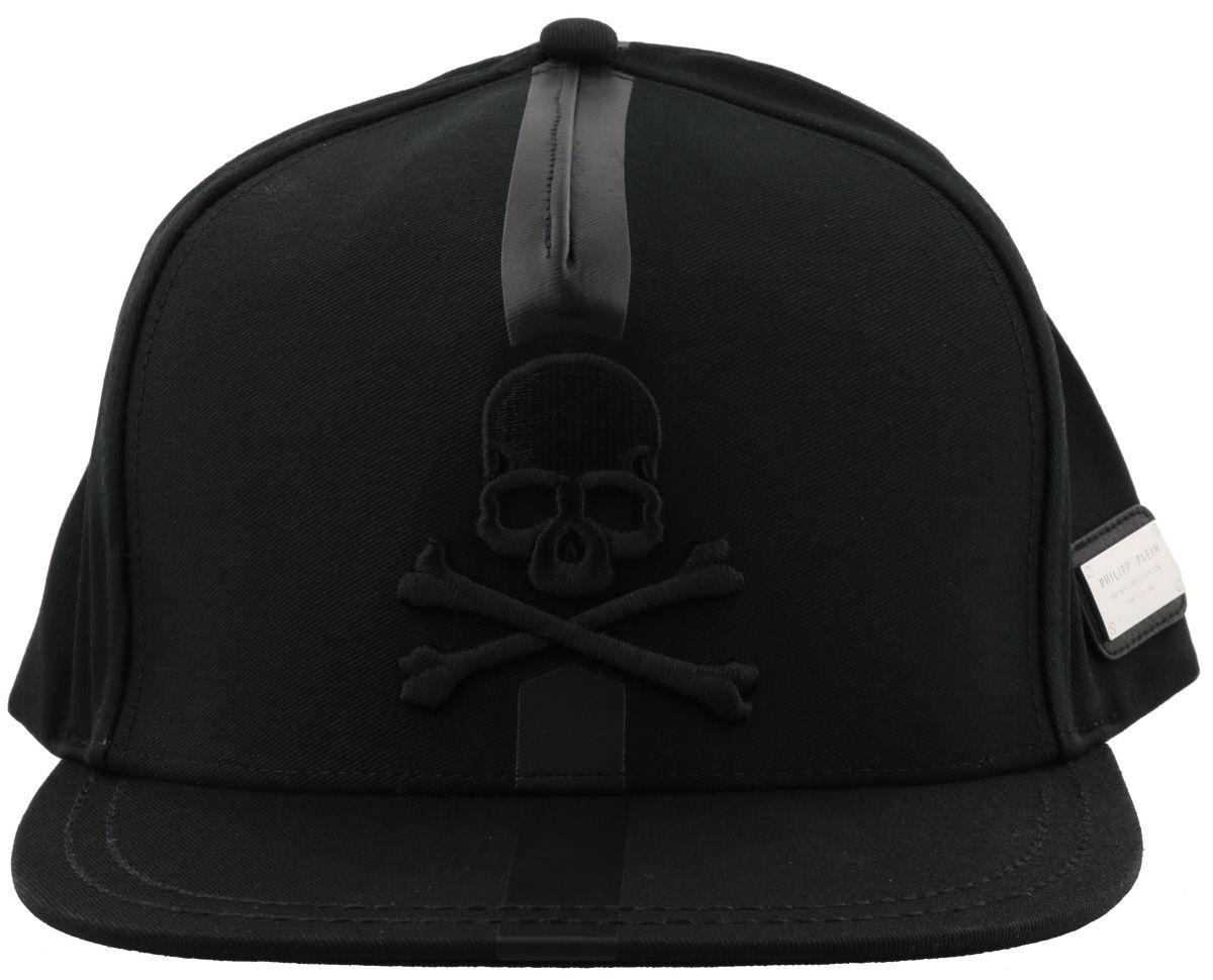 philipp plein philipp plein jacob baseball cap black nickel men 39 s hats italist. Black Bedroom Furniture Sets. Home Design Ideas