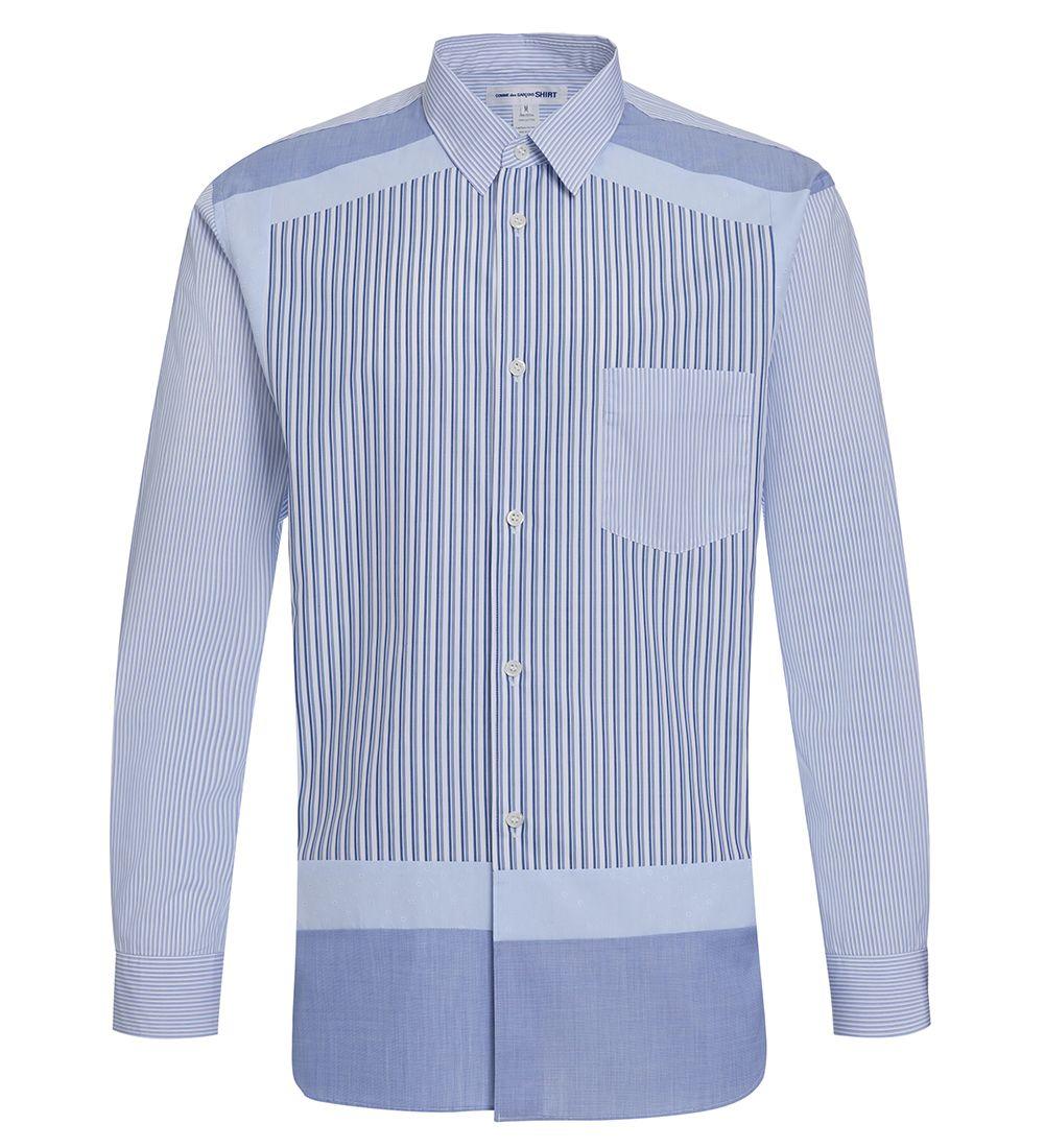 Comme Des Garçons Light Blue/white Shirt
