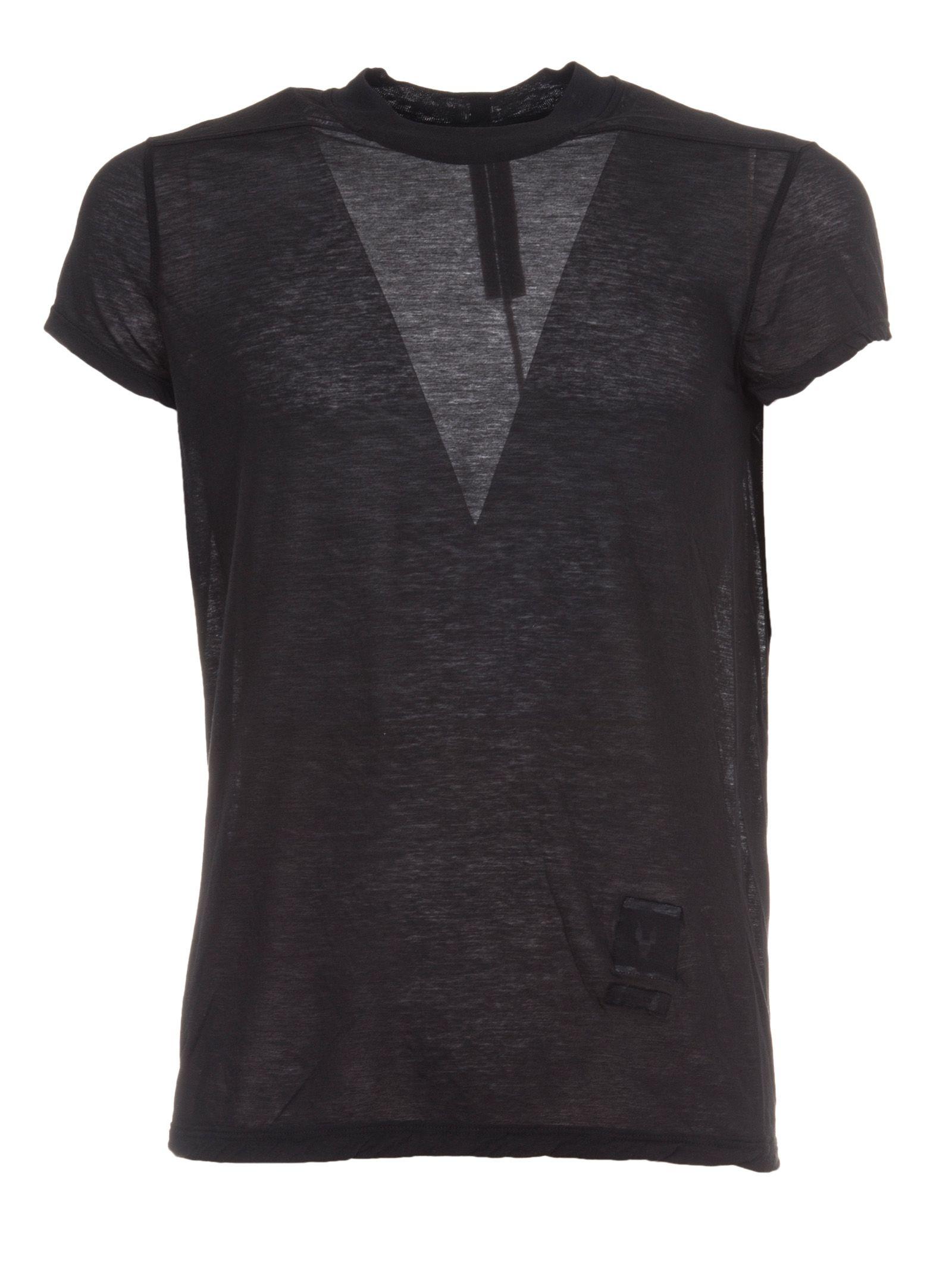 Rick Owens Crew Level Short T-shirt