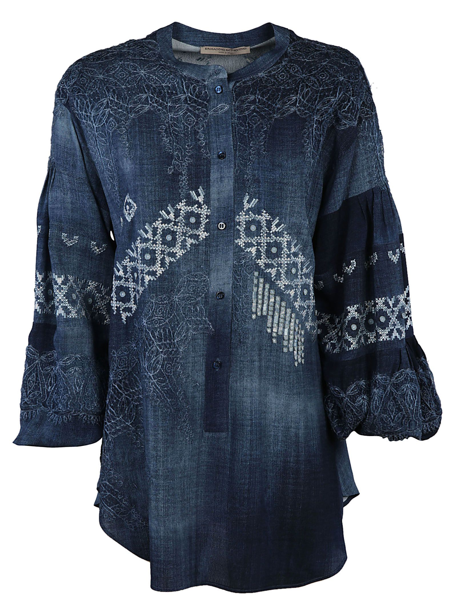Ermanno Scervino Embroidered Detail Blouse