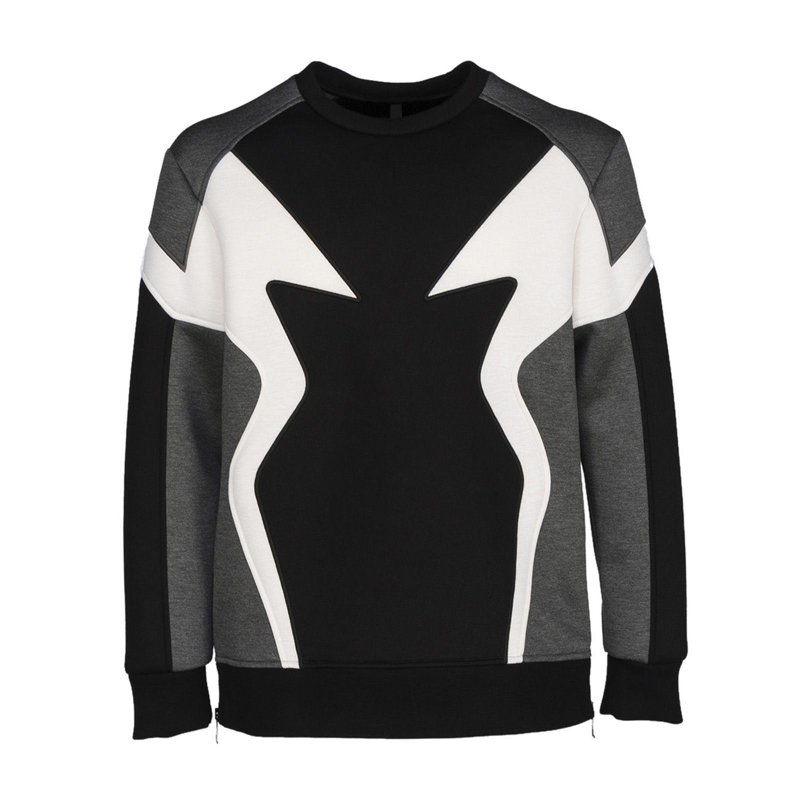 Neil Barrett Patterned Sweatshirt