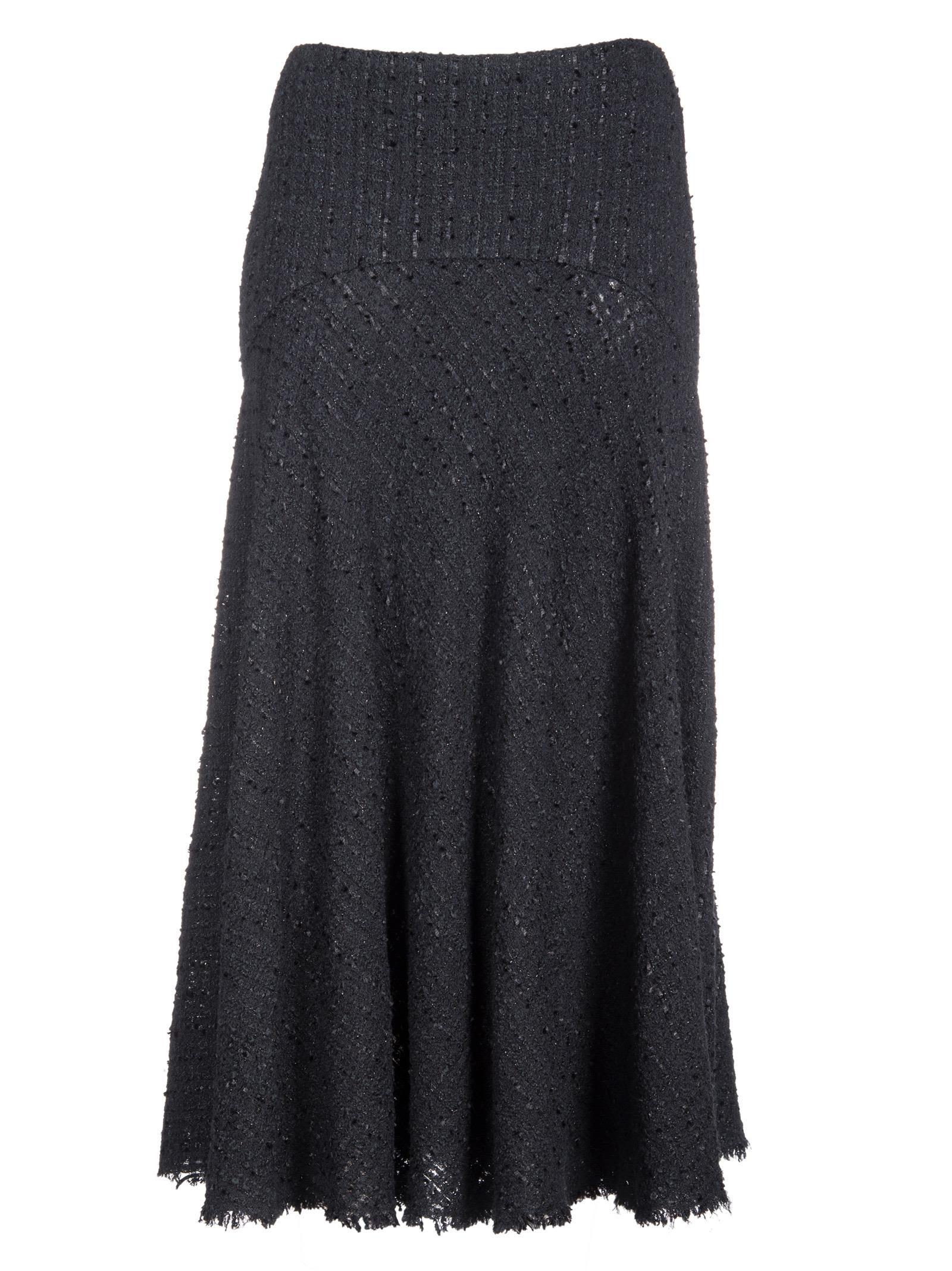 Alexander Mcqueen Boucle Midi Skirt