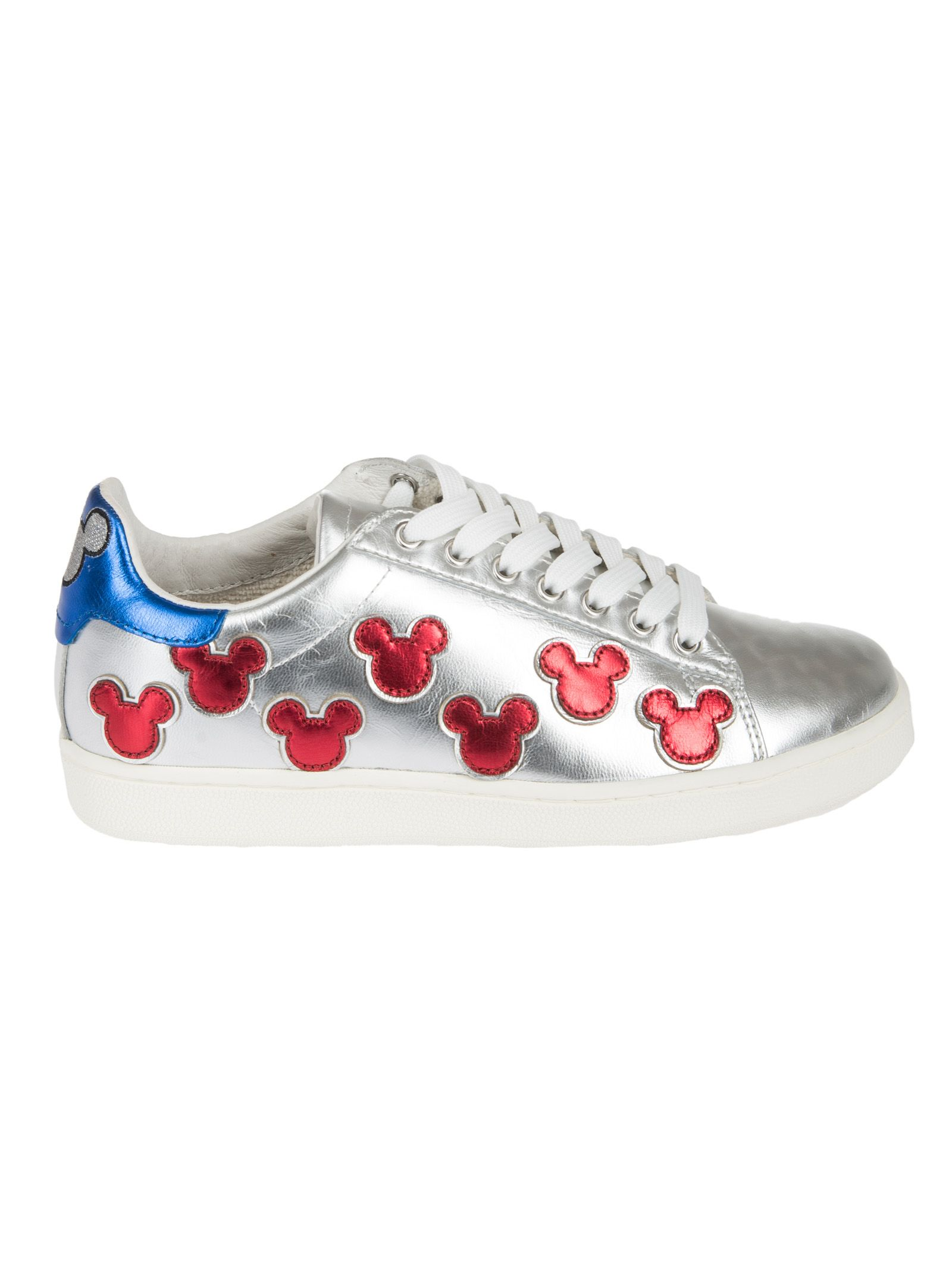 MOA USA Moa Master Of Arts Micky Mouse Sneakers in Silver