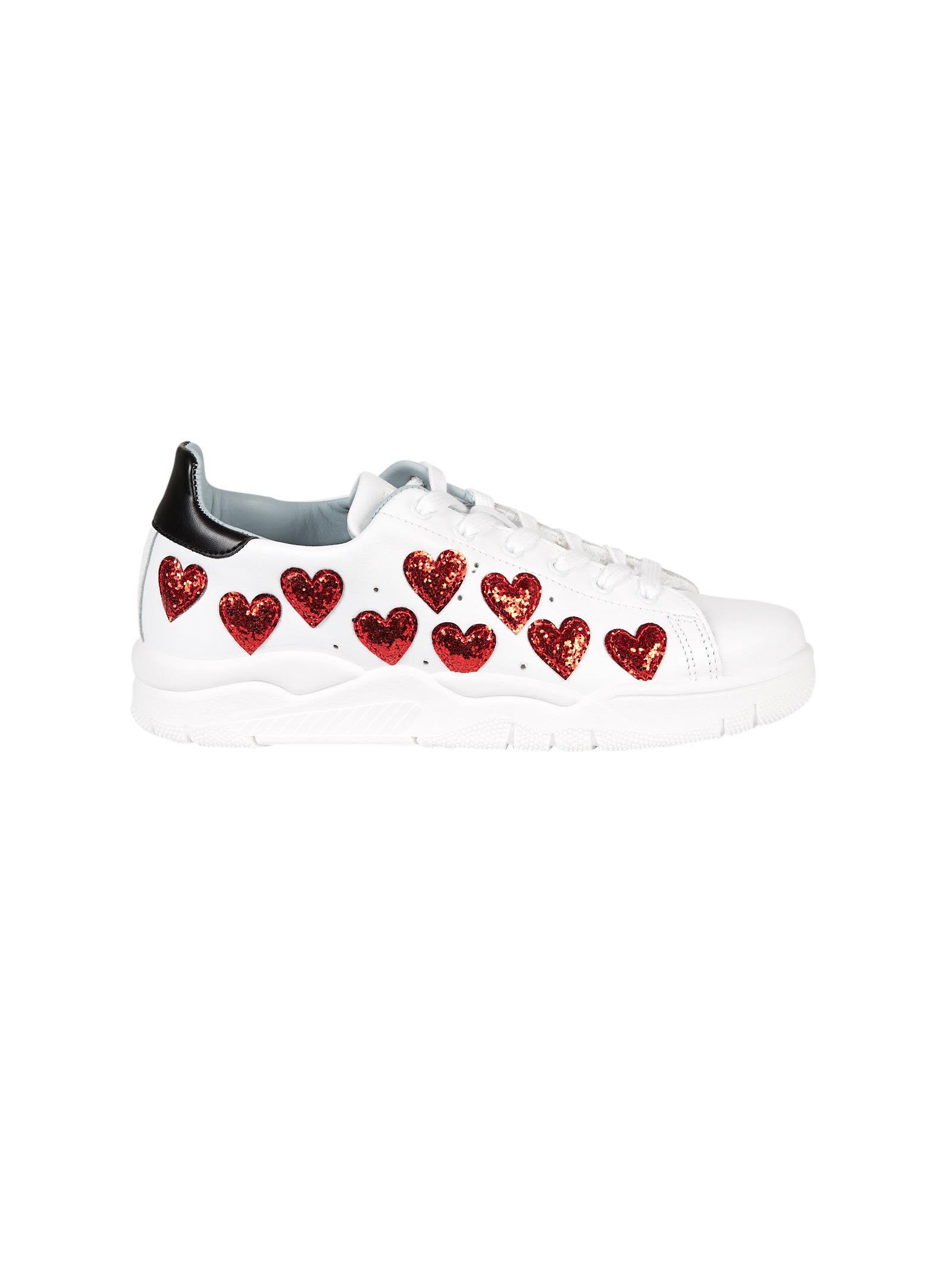 Chiara Ferragni Heart Roger Sneakers