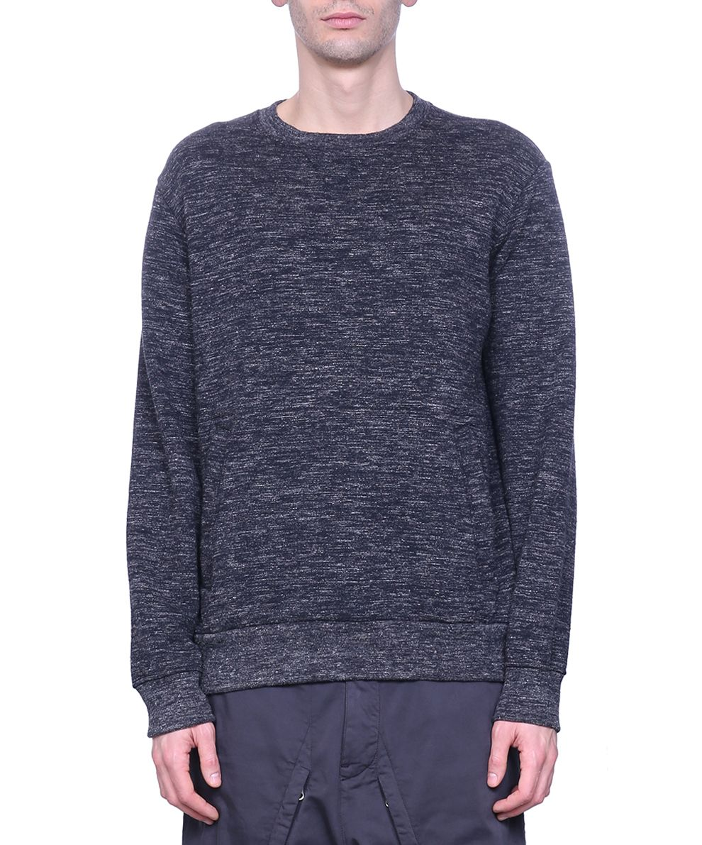 Stone Island Shadow Project Grey Cotton Sweatshirt